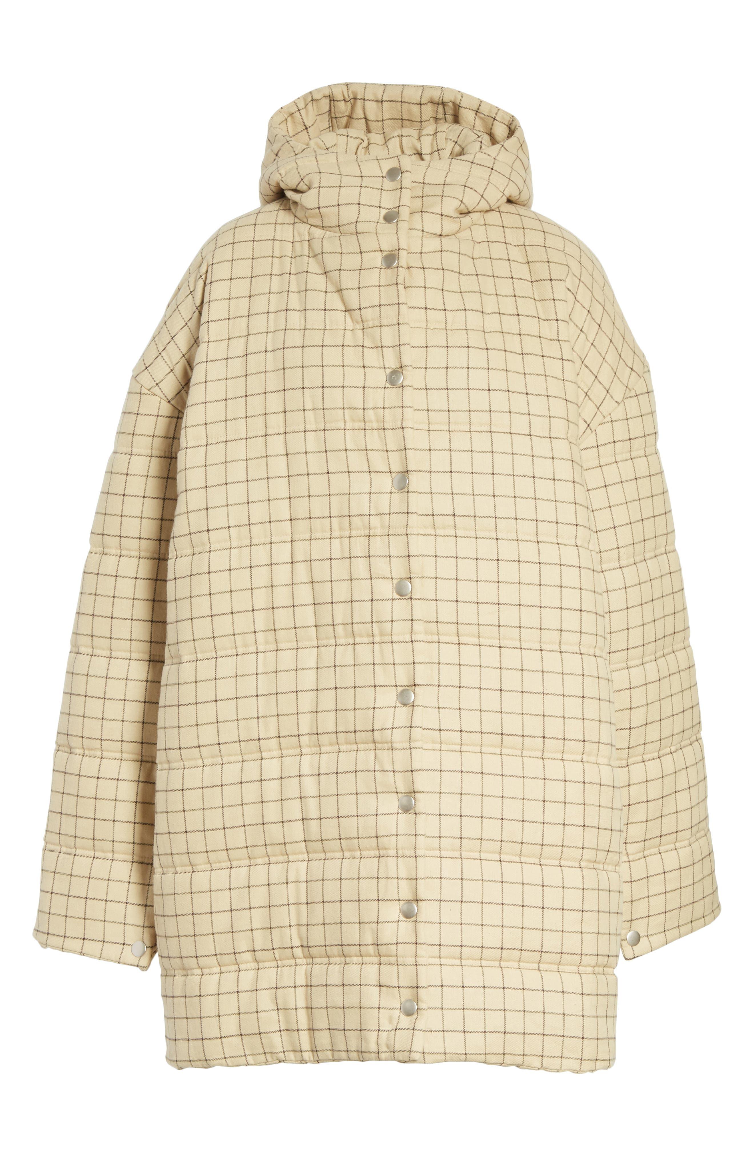 Alternate Image 6  - A.W.A.K.E. Check Puffer Coat