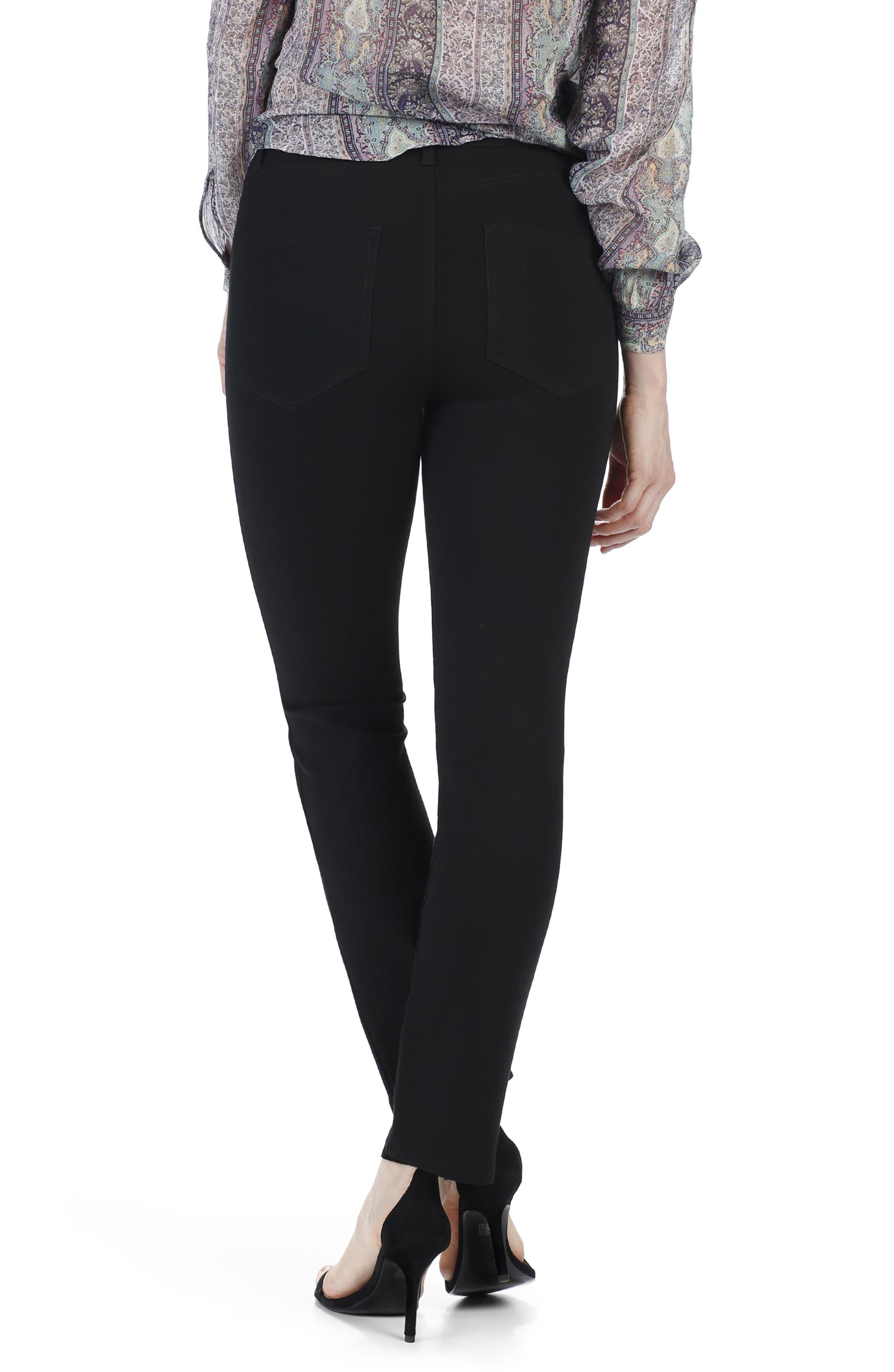 Alternate Image 2  - PAIGE Jacqueline High Waist Crop Straight Leg Pants