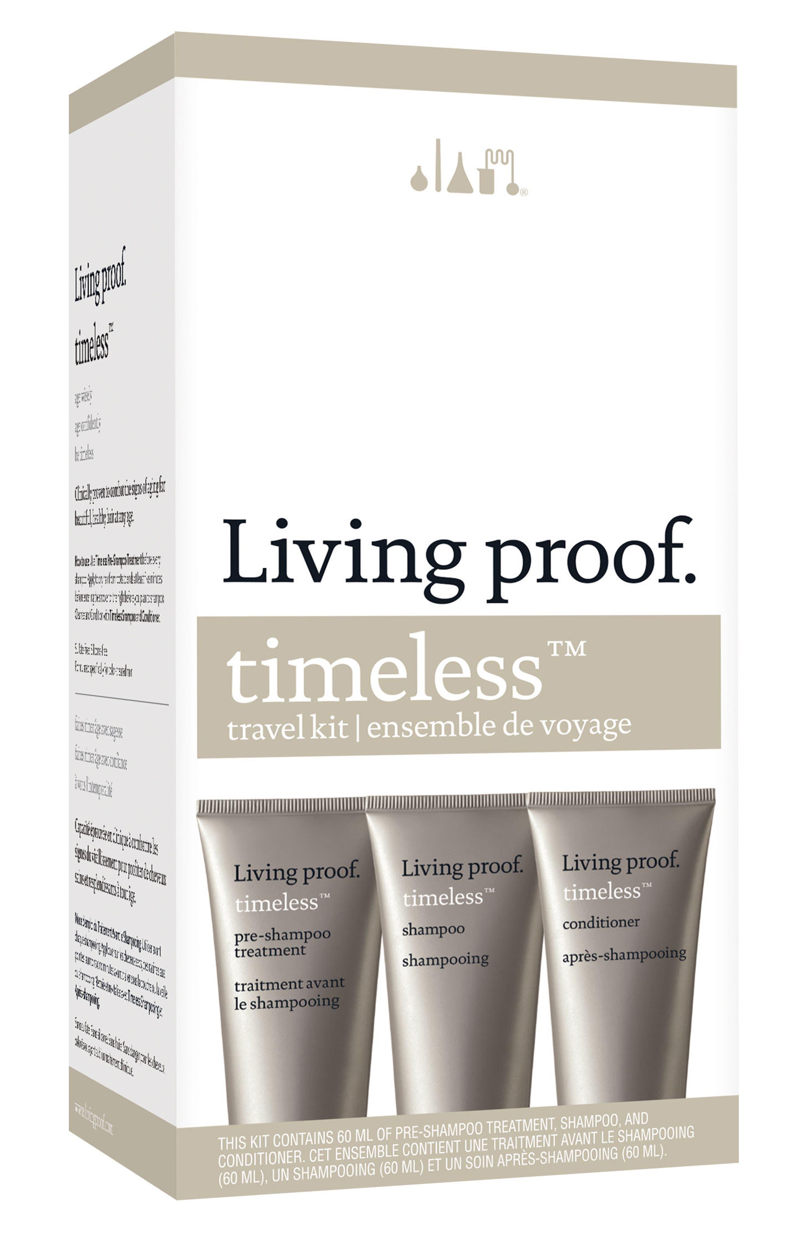 Alternate Image 1 Selected - Living proof® Timeless Travel Kit ($34 Value)
