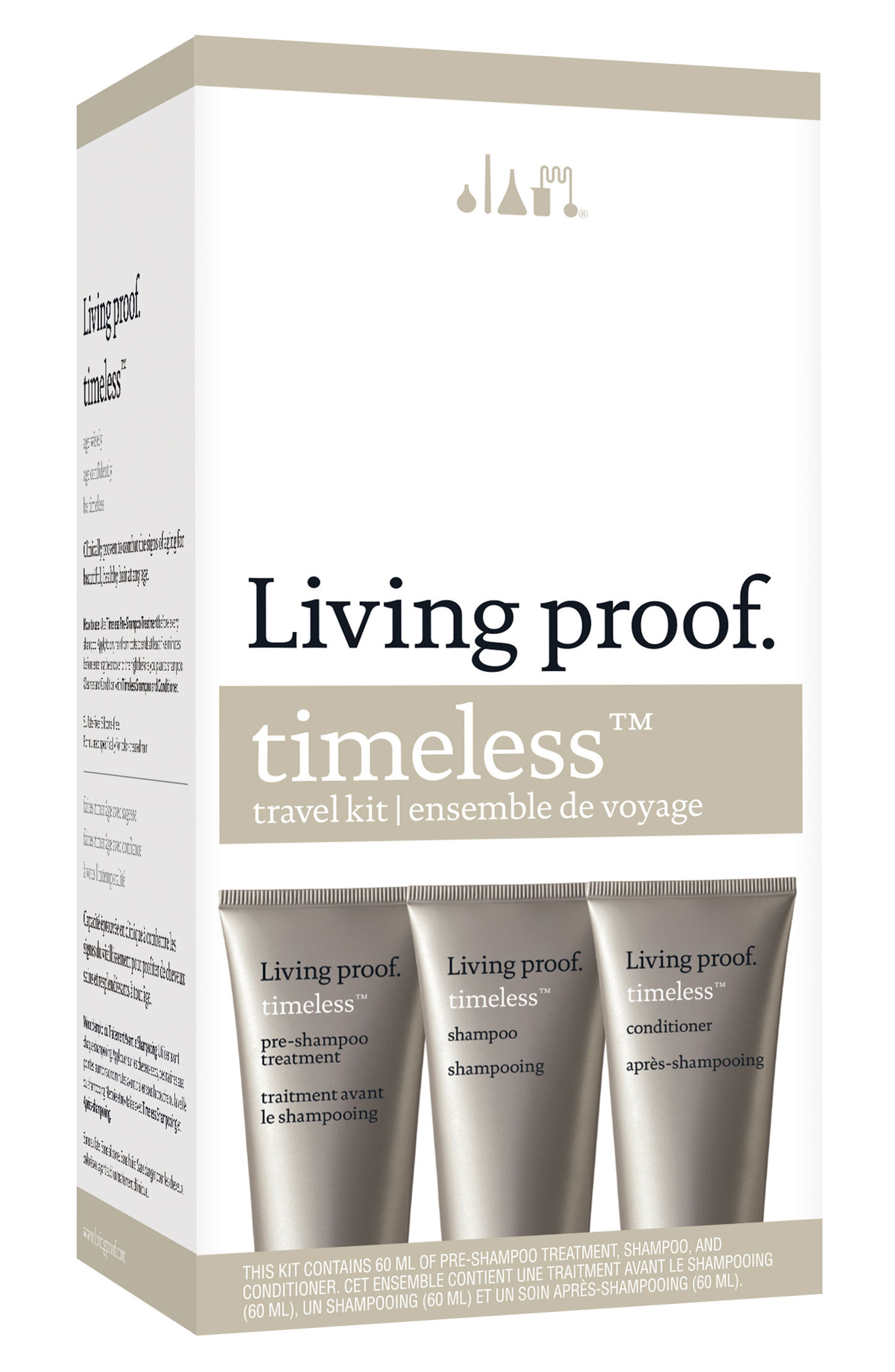 Main Image - Living proof® Timeless Travel Kit ($34 Value)