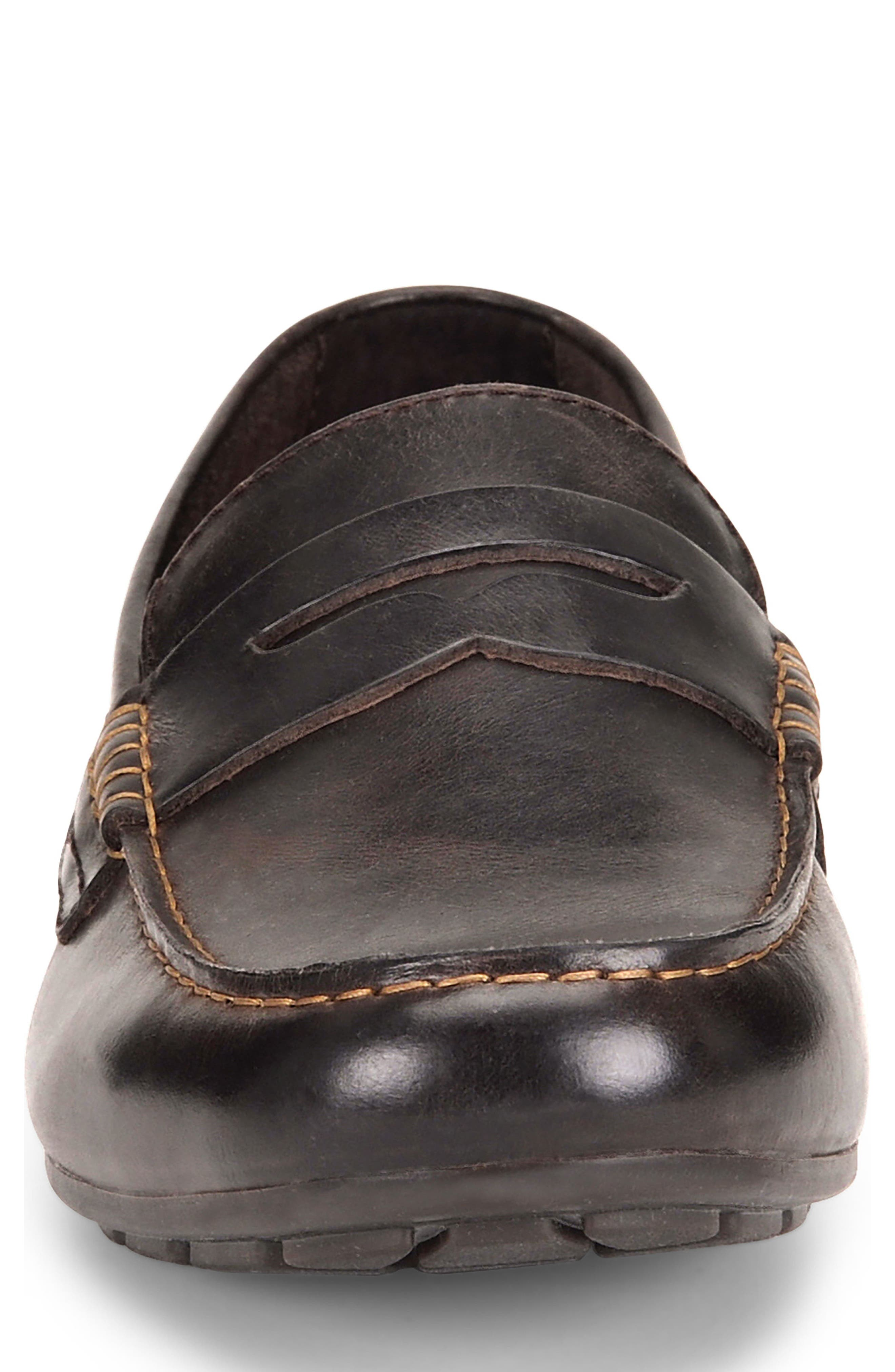 Andes Driving Shoe,                             Alternate thumbnail 4, color,                             Chocolate