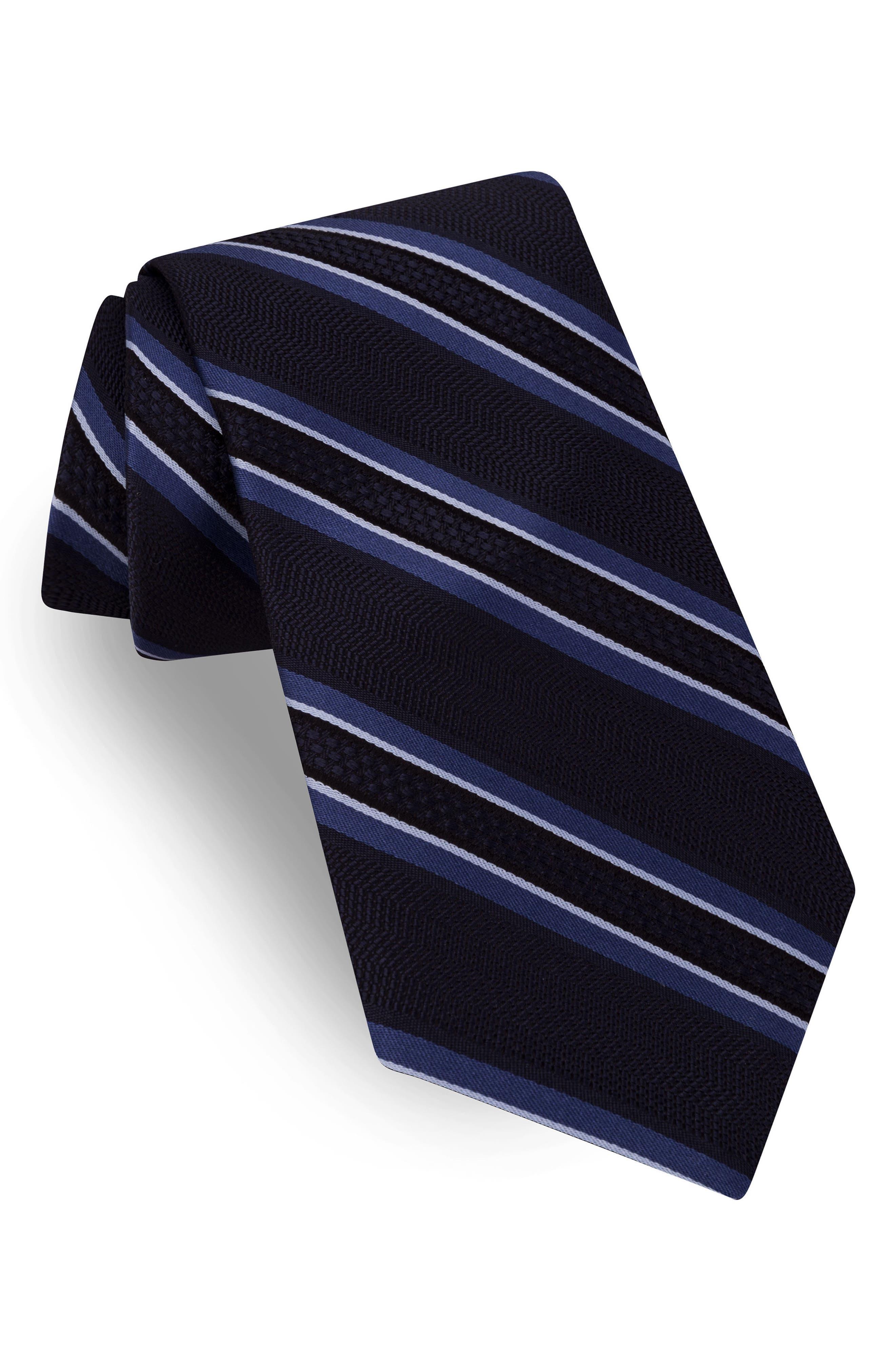 Ted Baker London Jetset Stripe Silk Tie
