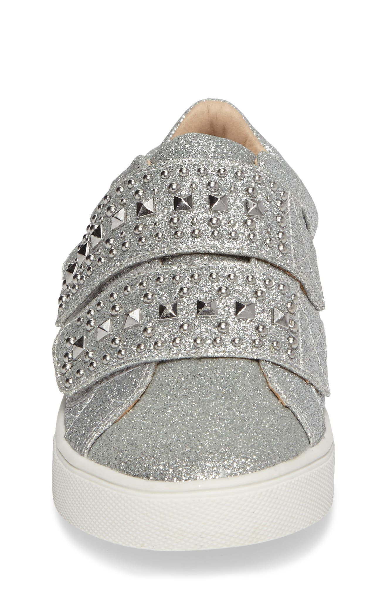 Alternate Image 4  - Vince Camuto Baylen Embellished Glitter Sneaker (Toddler, Little Kid & Big Kid)