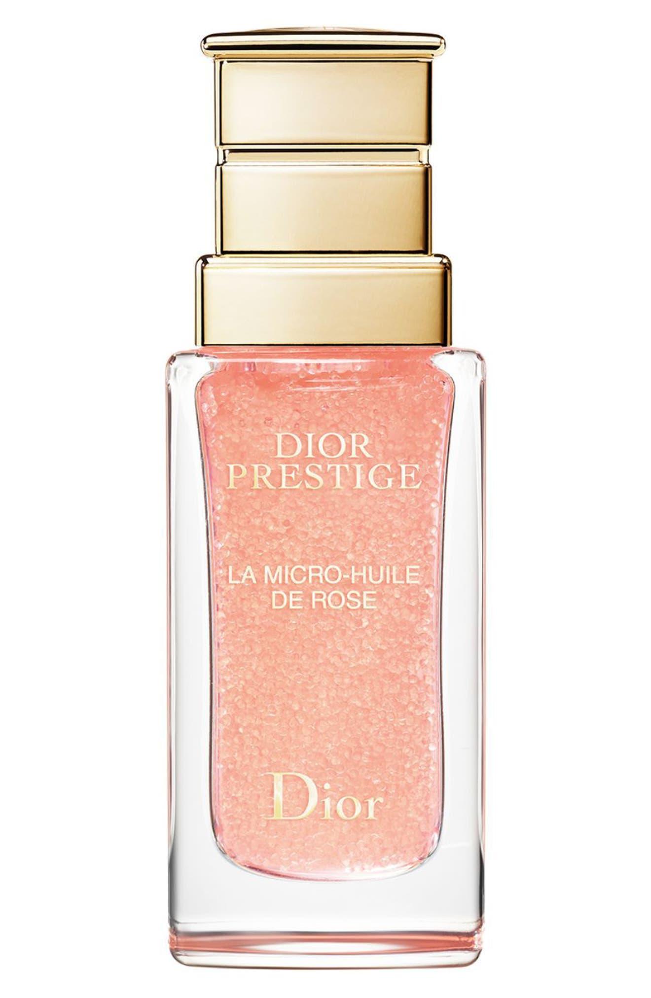 Prestige La Micro Huile de Rose Face Oil,                             Main thumbnail 1, color,                             No Color