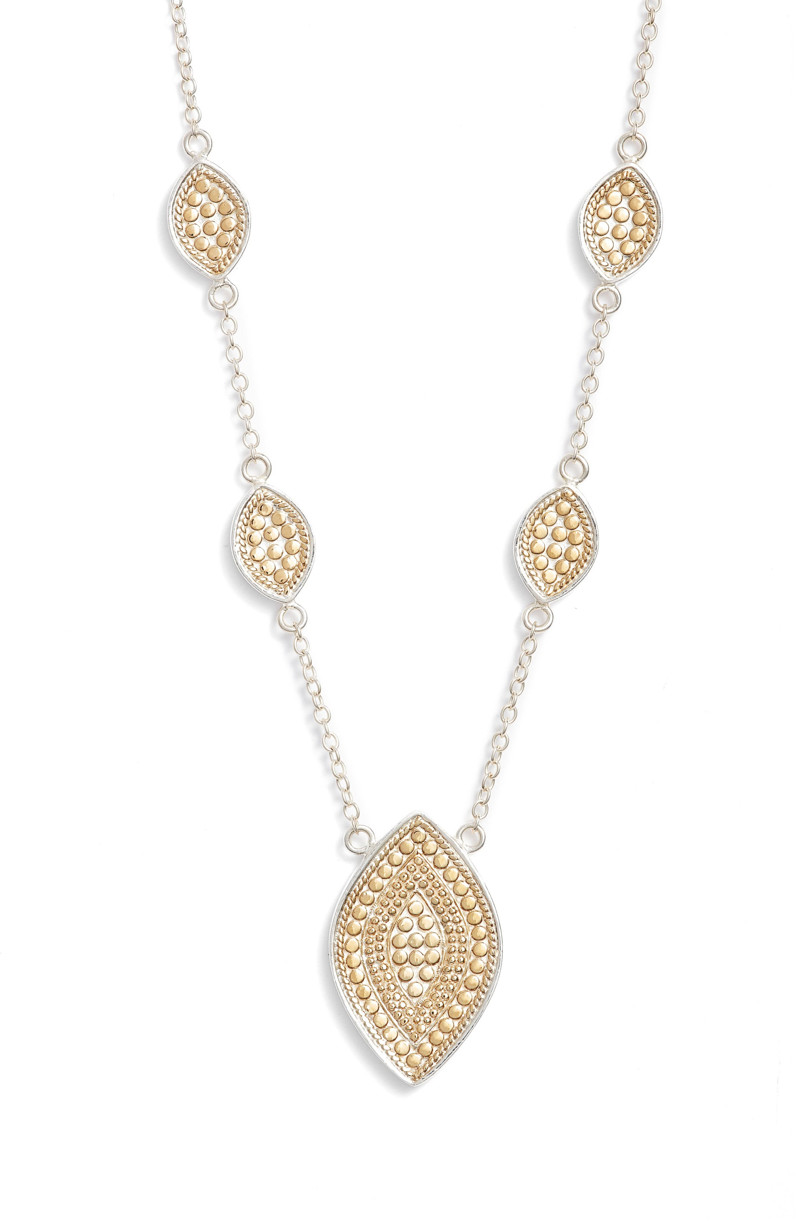 Anna Beck Reversible Charm Necklace