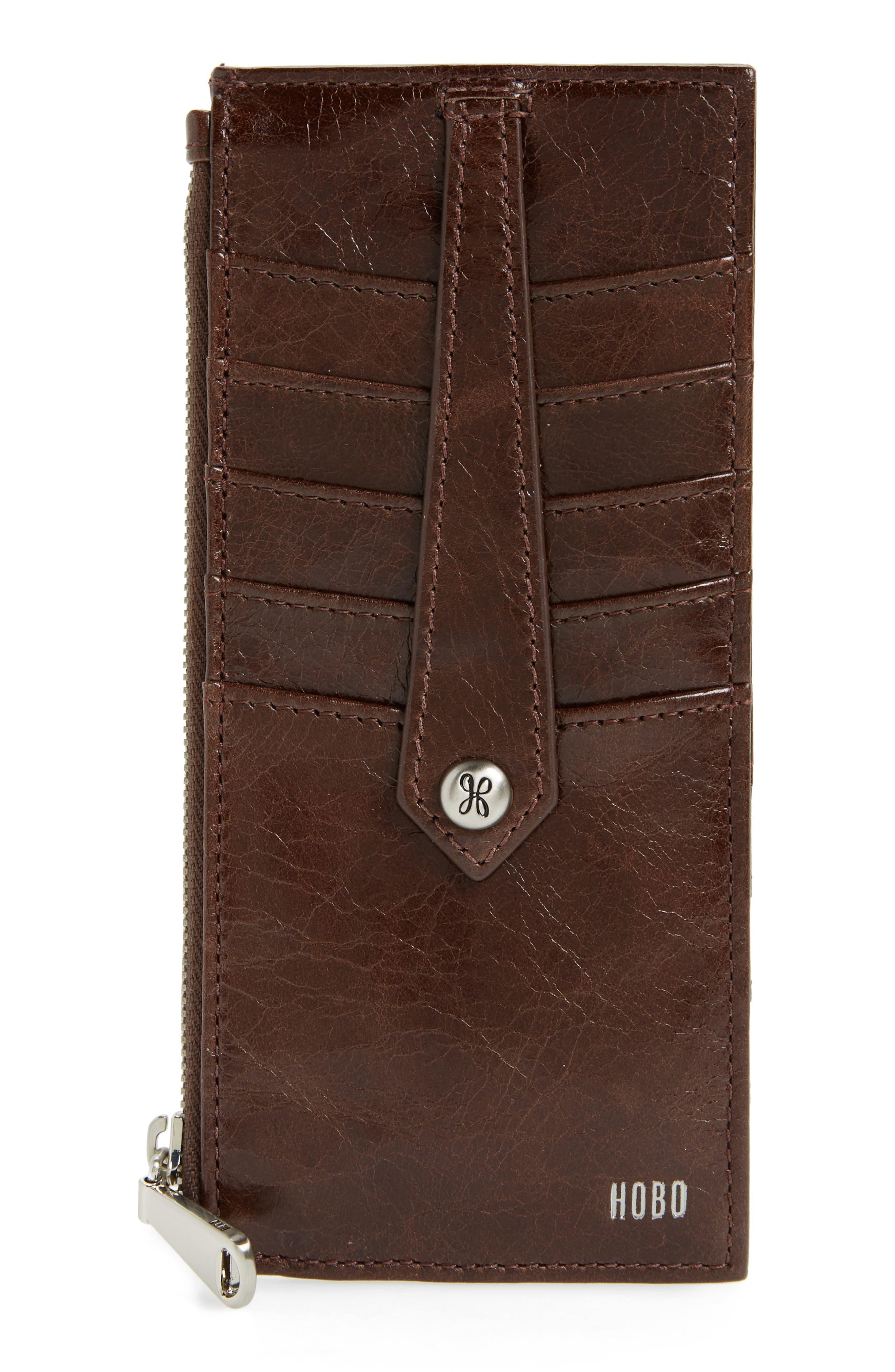 HOBO Linn Leather Card Case