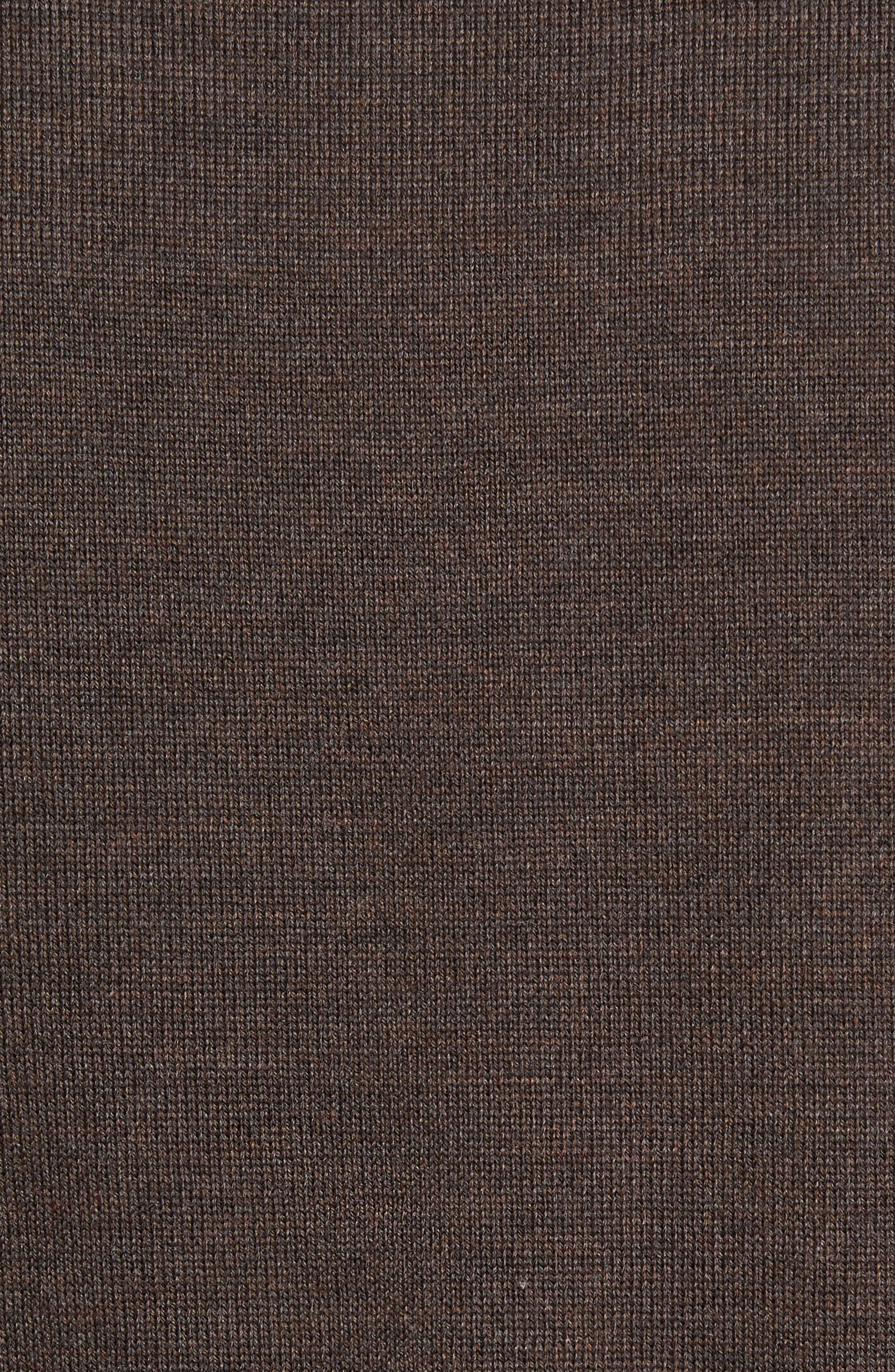 Alternate Image 5  - Barbour Gamlin Quarter Zip Wool Pullover