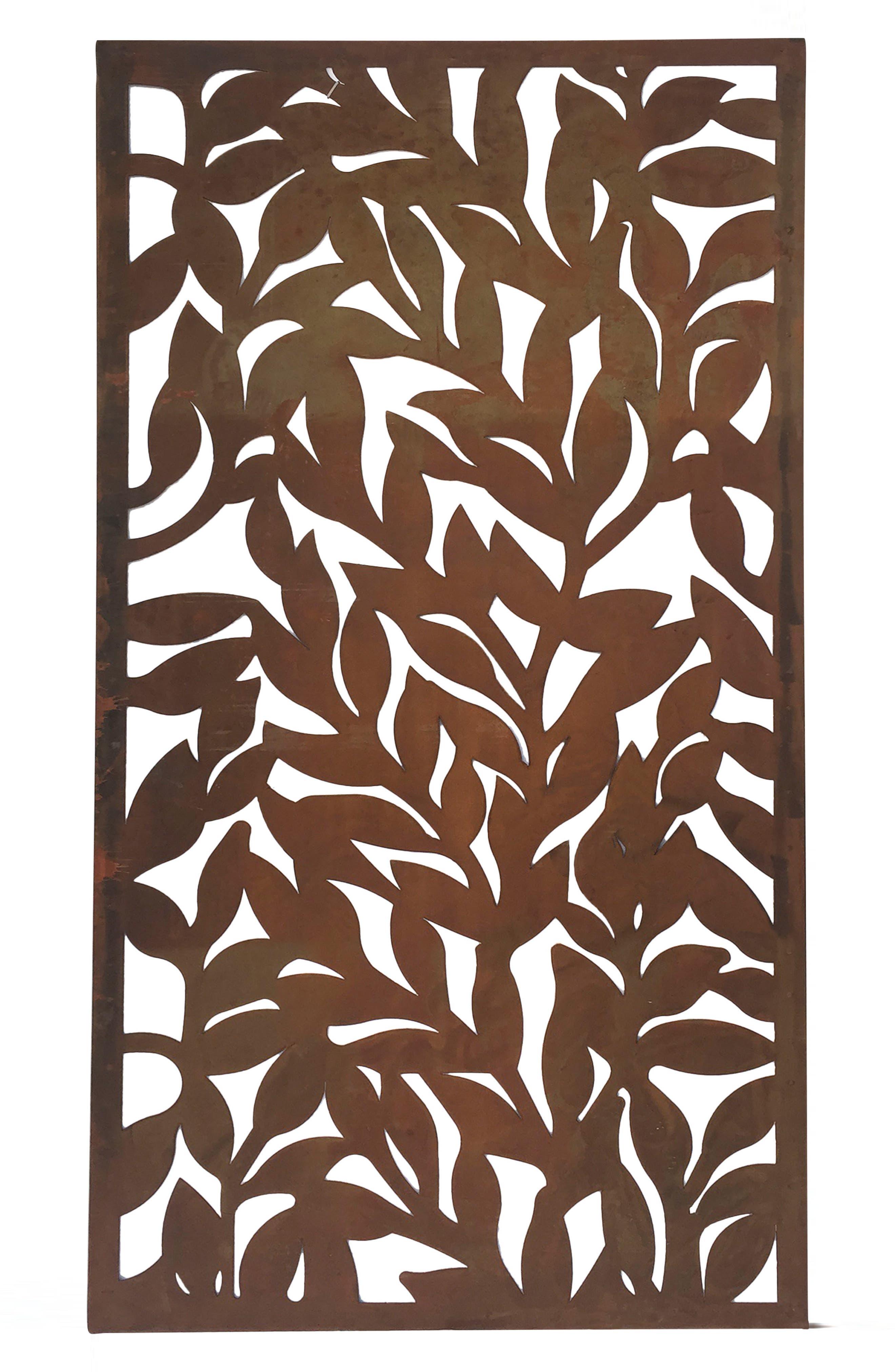 Ivy Wall Art,                         Main,                         color, Metal