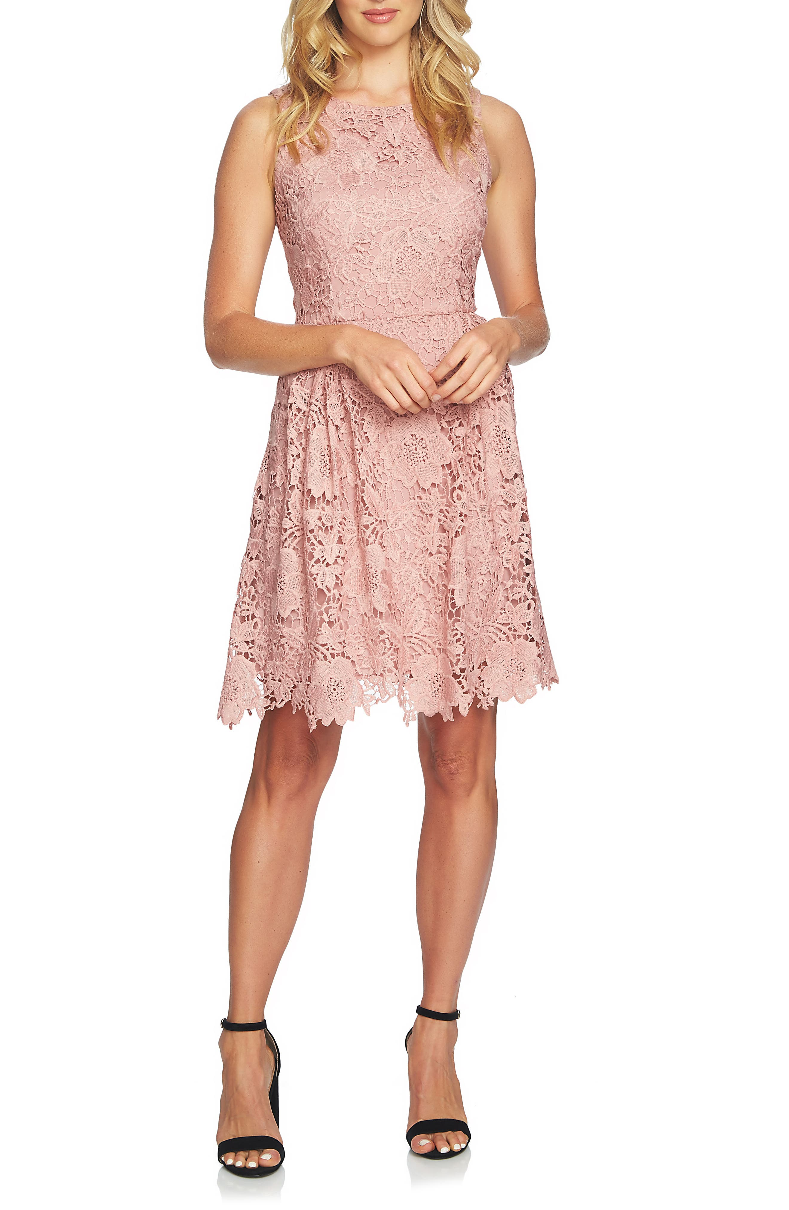 Alternate Image 3  - CeCe Claiborne Lace A-Line Dress