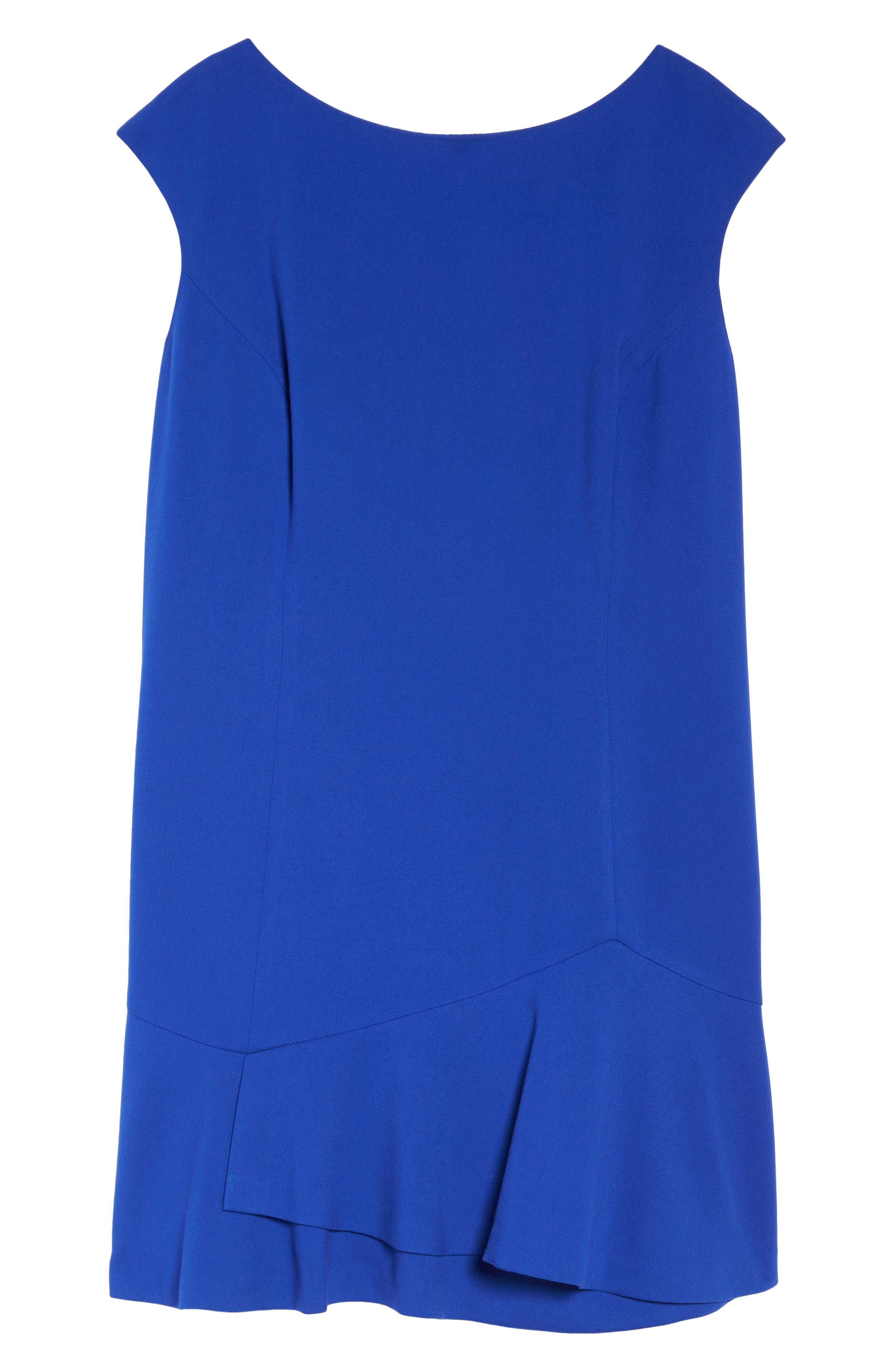 Alternate Image 6  - Vince Camuto Drop Waist Dress (Plus Size)