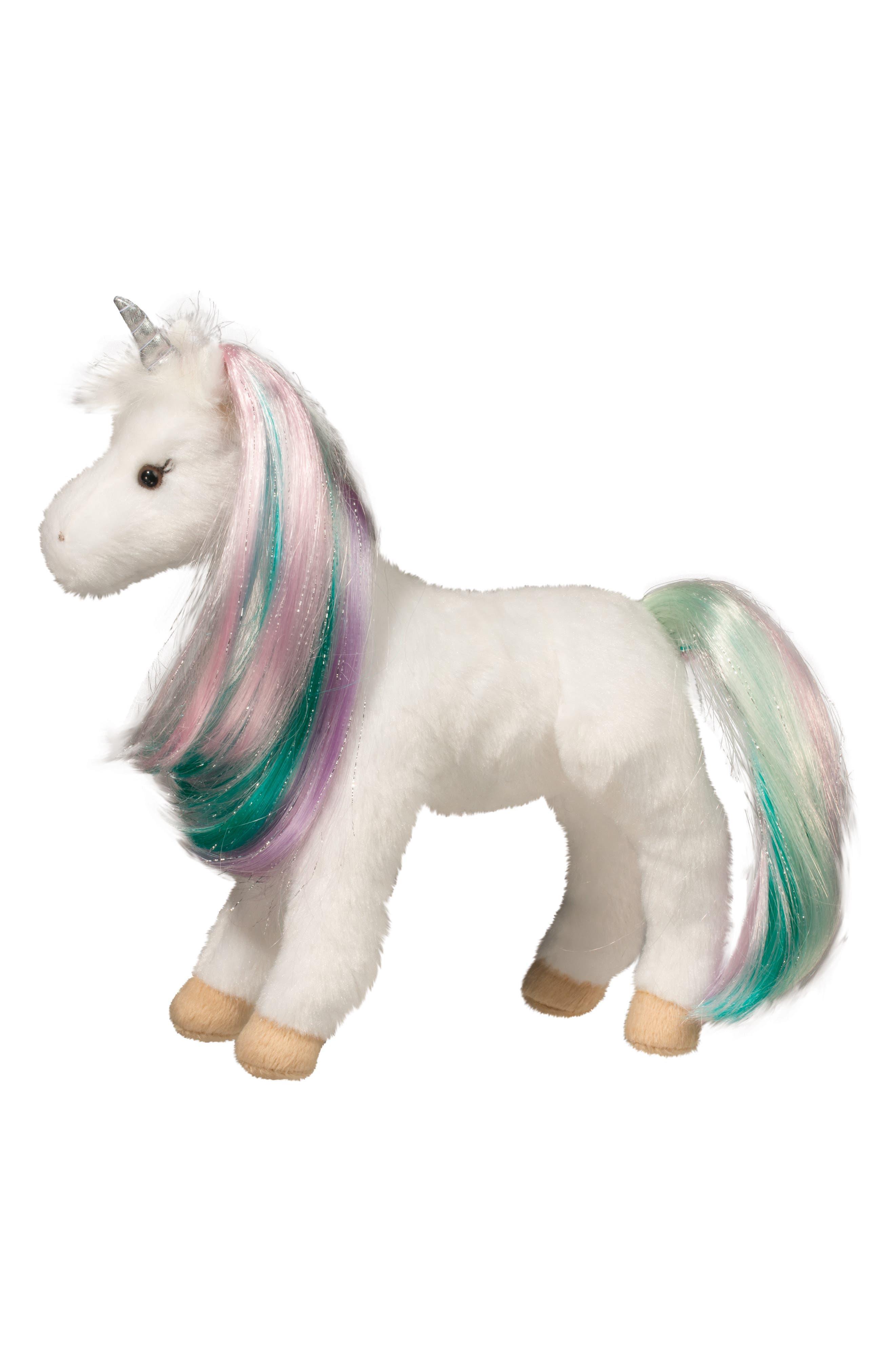Douglas Jules Princess Unicorn Stuffed Animal