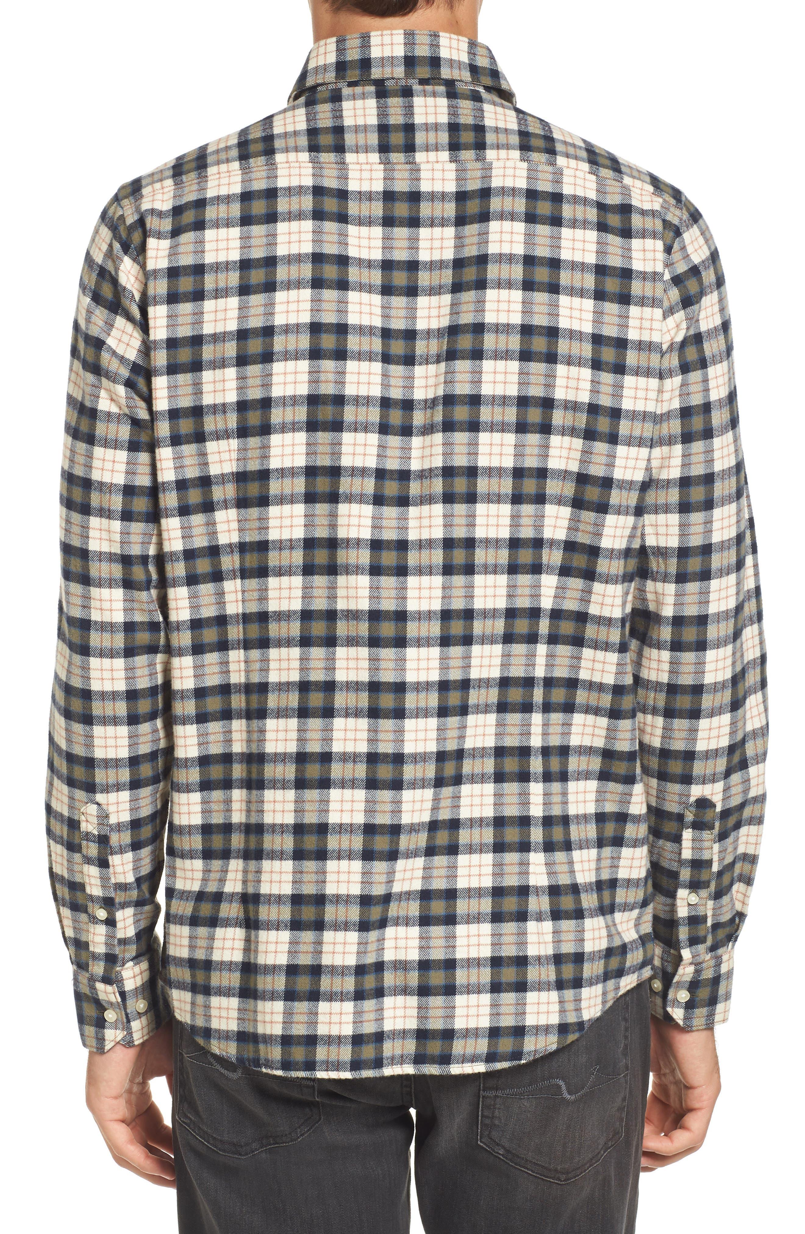 Alternate Image 2  - Barbour Blake Plaid Sport Shirt