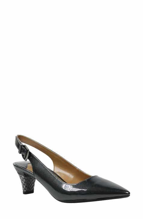032574d9b07 metallic kitten heel