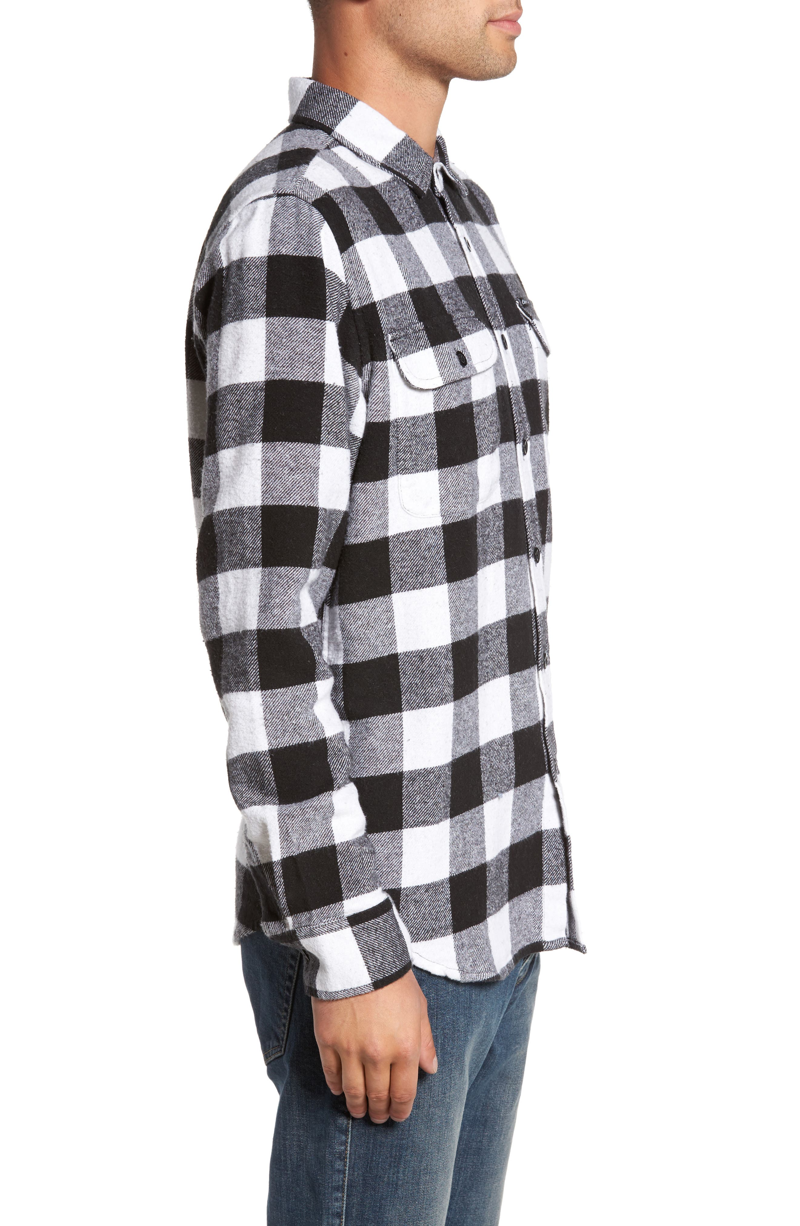 Alternate Image 3  - Obey Trent Check Woven Shirt