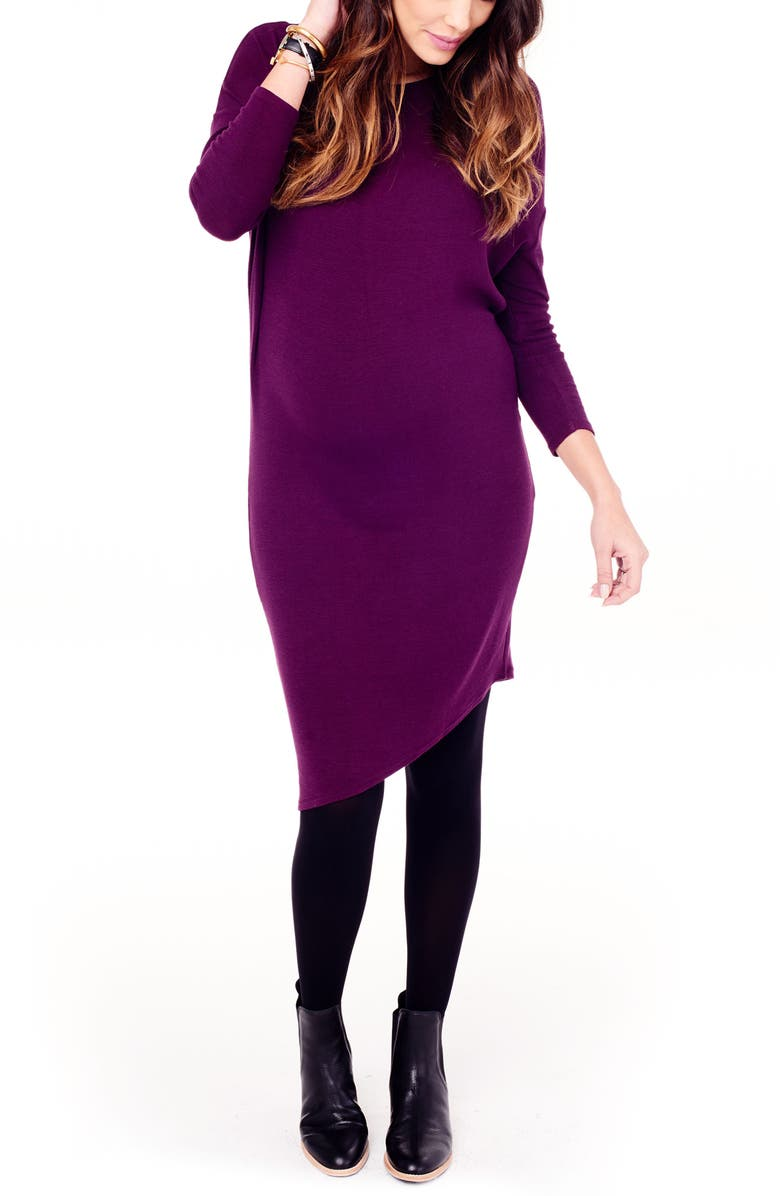 Asymmetrical Maternity Dress