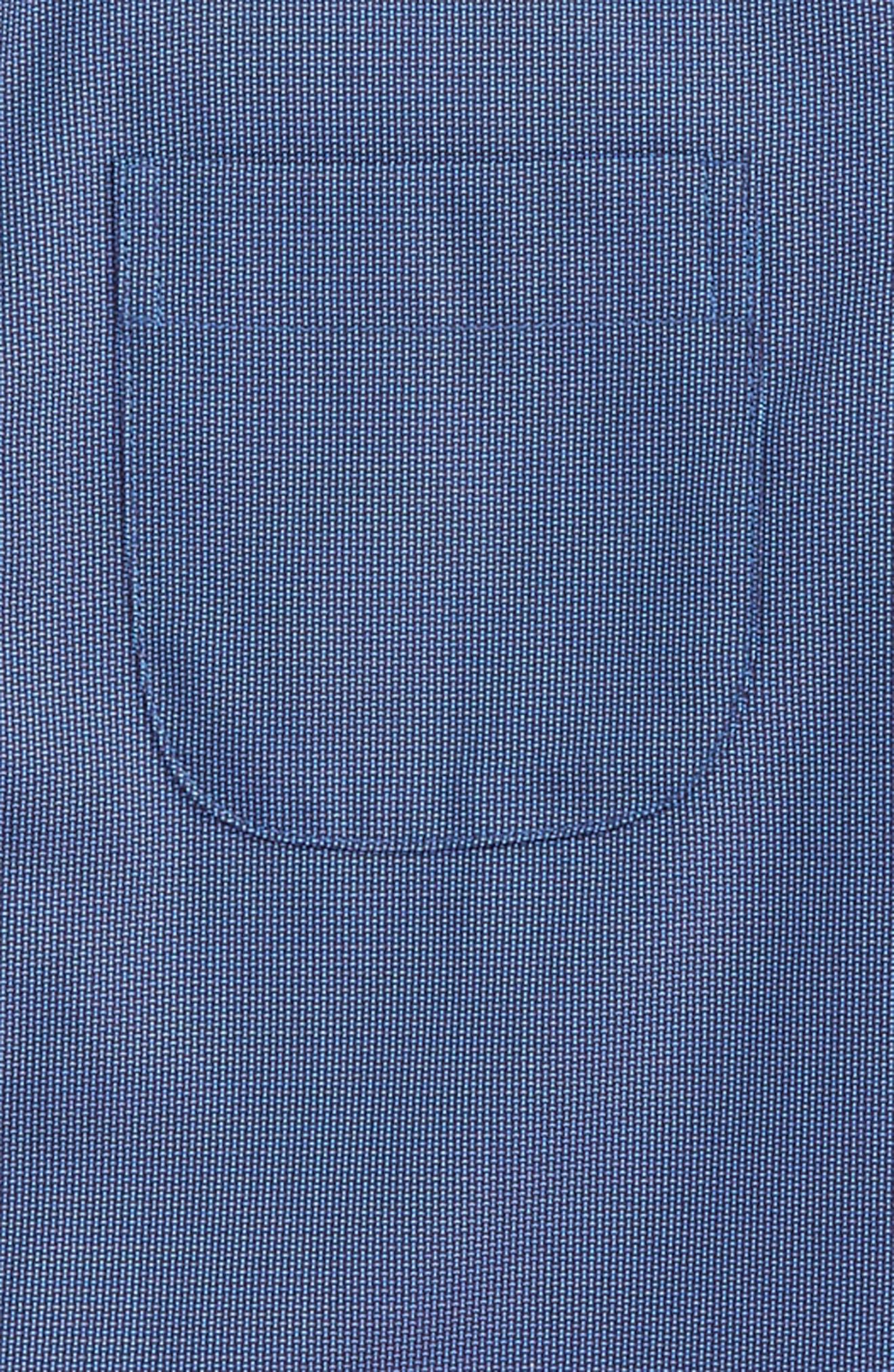 Alternate Image 2  - Nordstrom Patriot Cotton Poplin Dress Shirt (Toddler Boys & Little Boys)