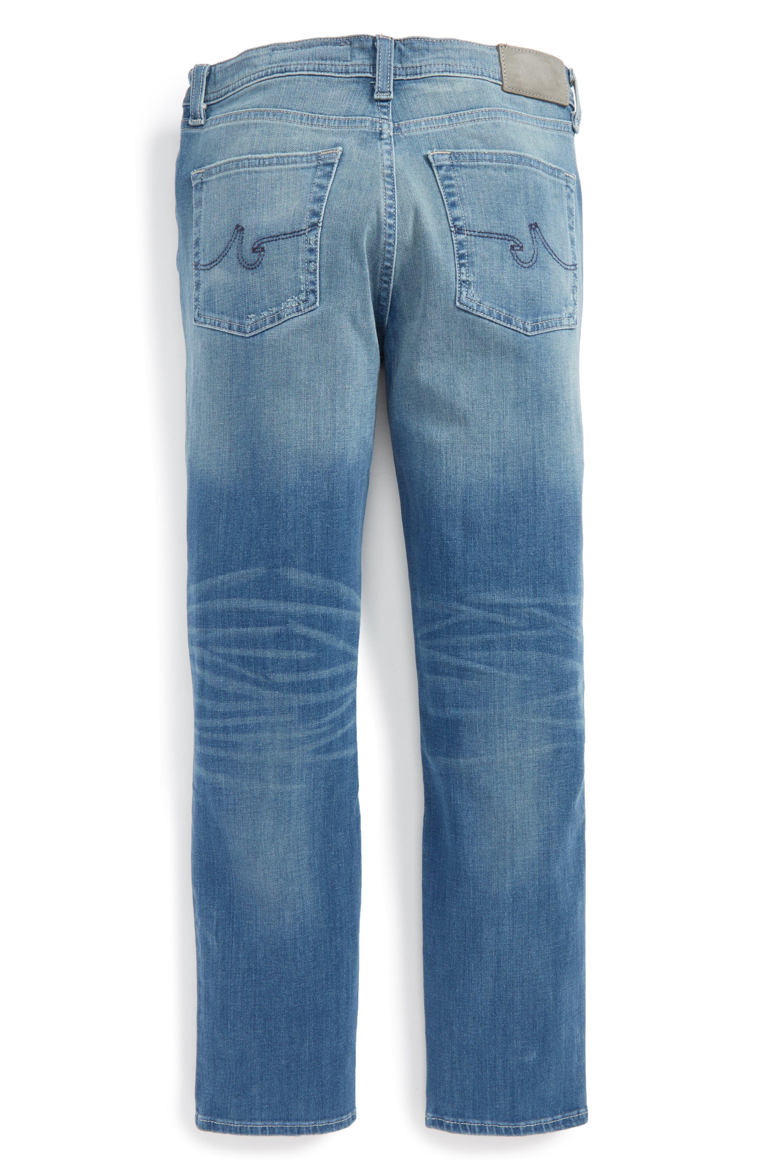 Alternate Image 2  - ag adriano goldschmied kids The Noah Slim Straight Leg Jeans (Big Boys)