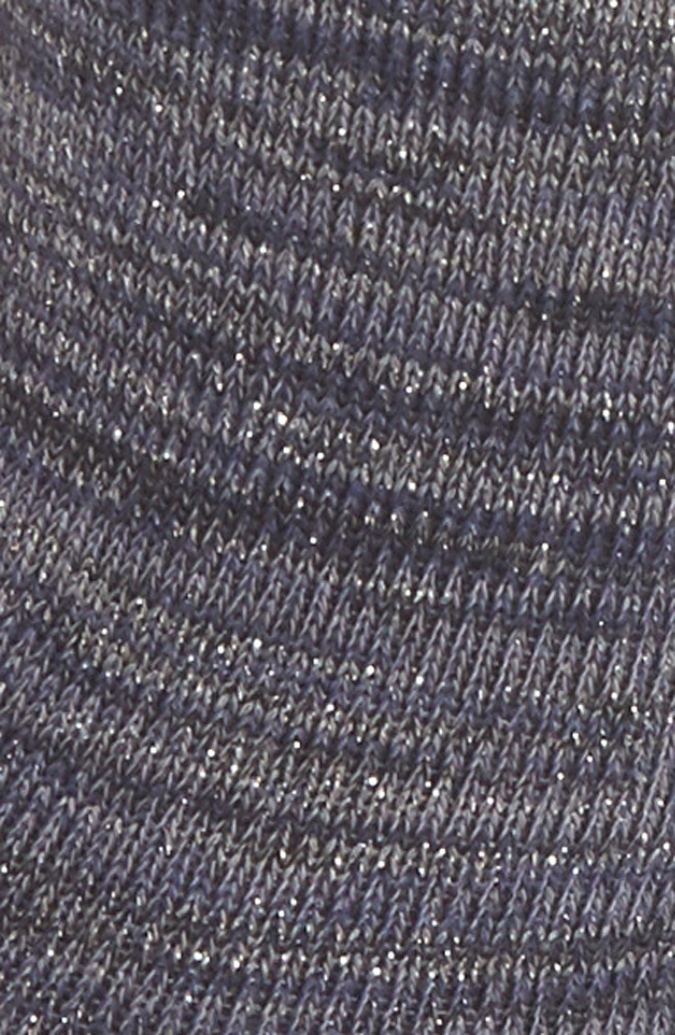 Emily Twinkletoes Crew Socks,                             Alternate thumbnail 2, color,                             Navy