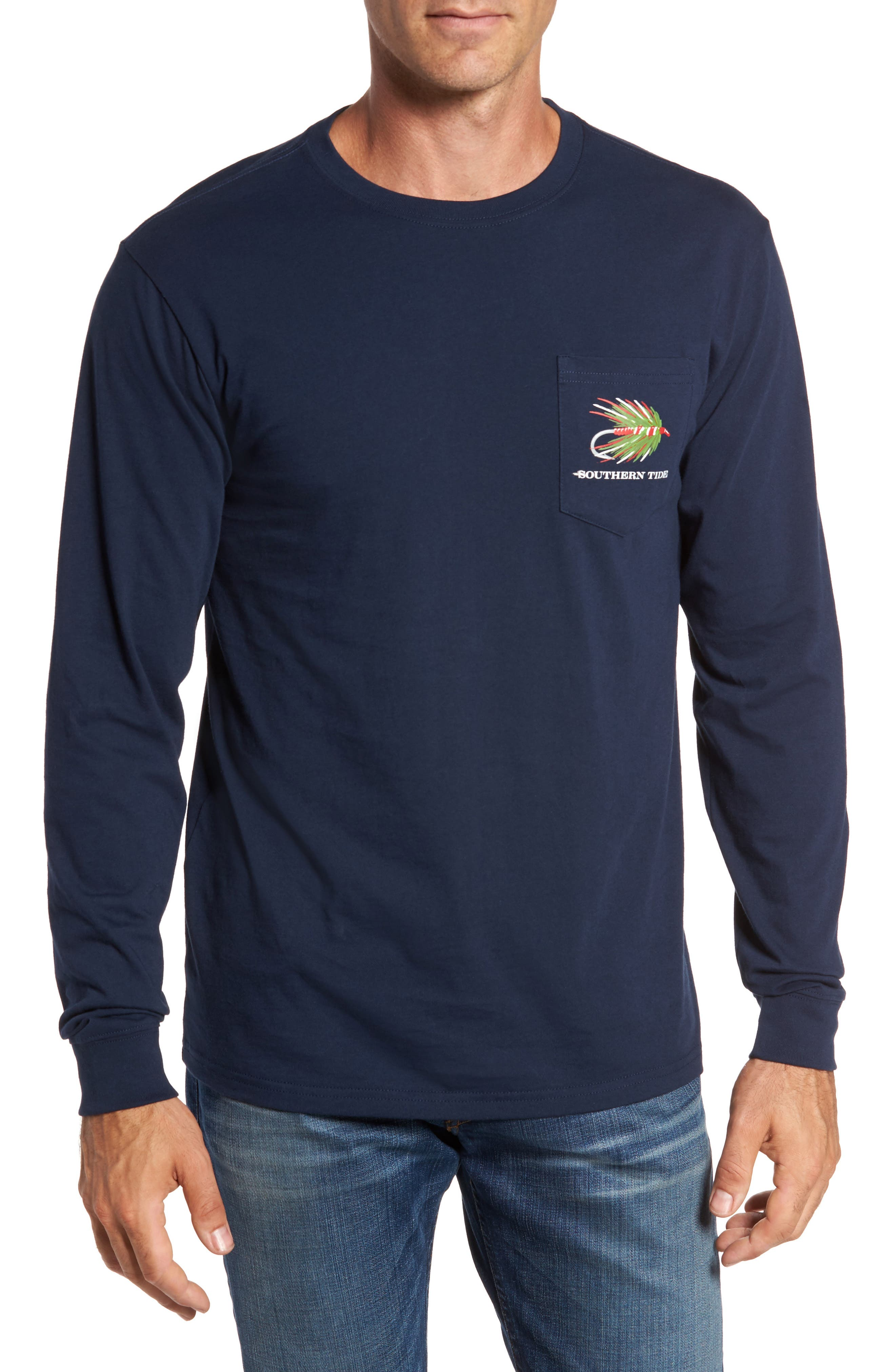 Southern Tide Holiday Dry Fly T-Shirt