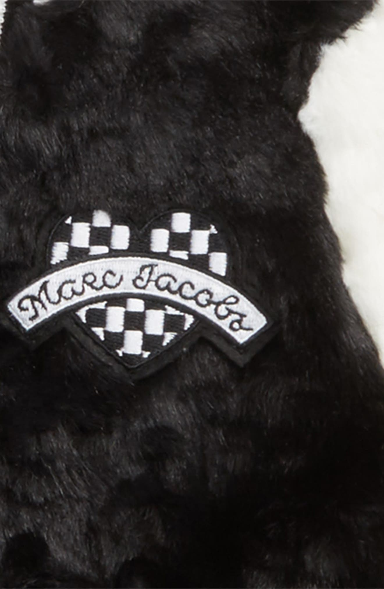 Alternate Image 2  - LITTLE MARC JACOBS Faux Fur Jacket (Toddler Girls, Little Girls & Big Girls)