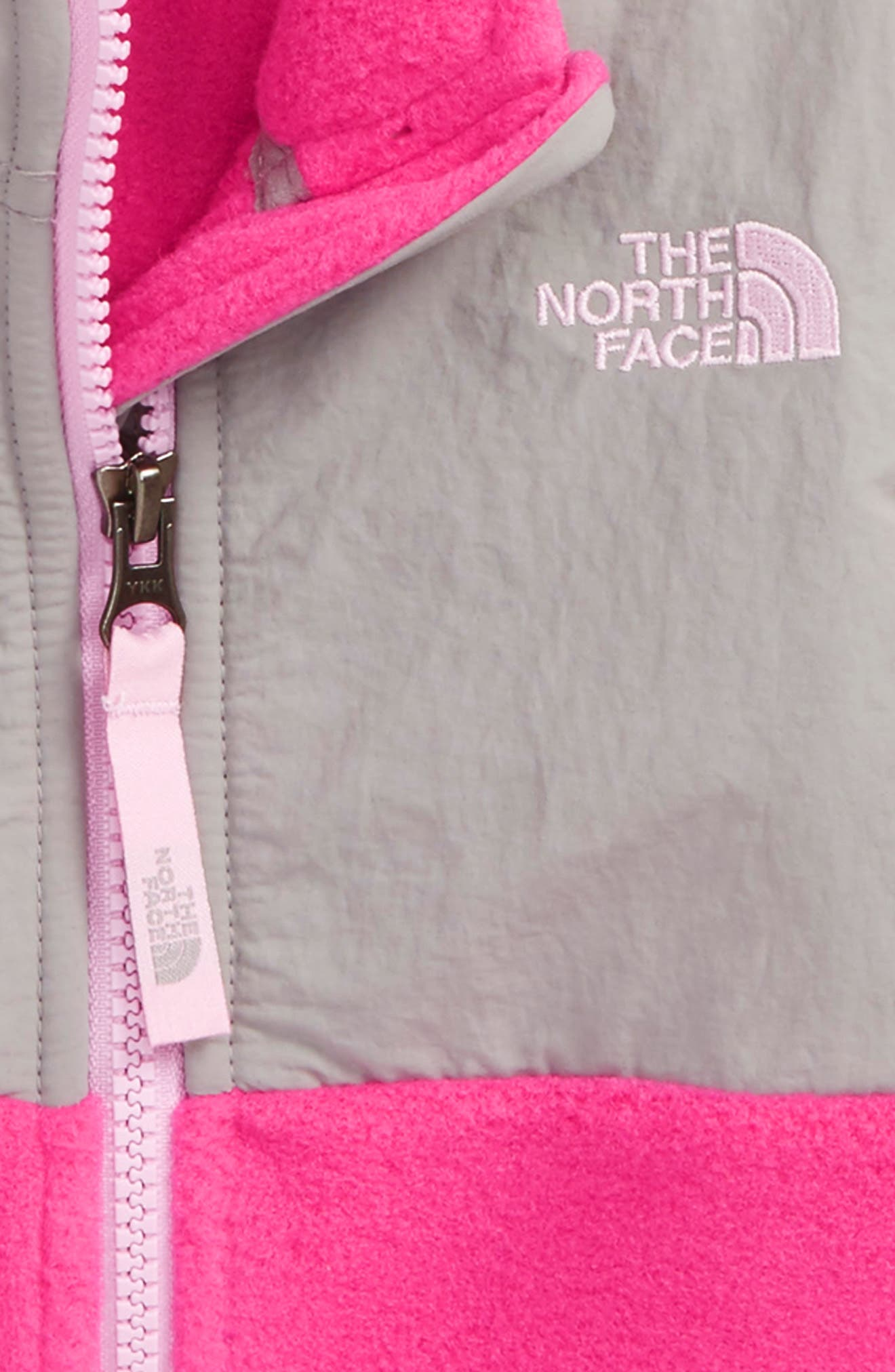 Alternate Image 2  - The North Face 'Denali' Recycled Fleece Jacket (Baby Girls)