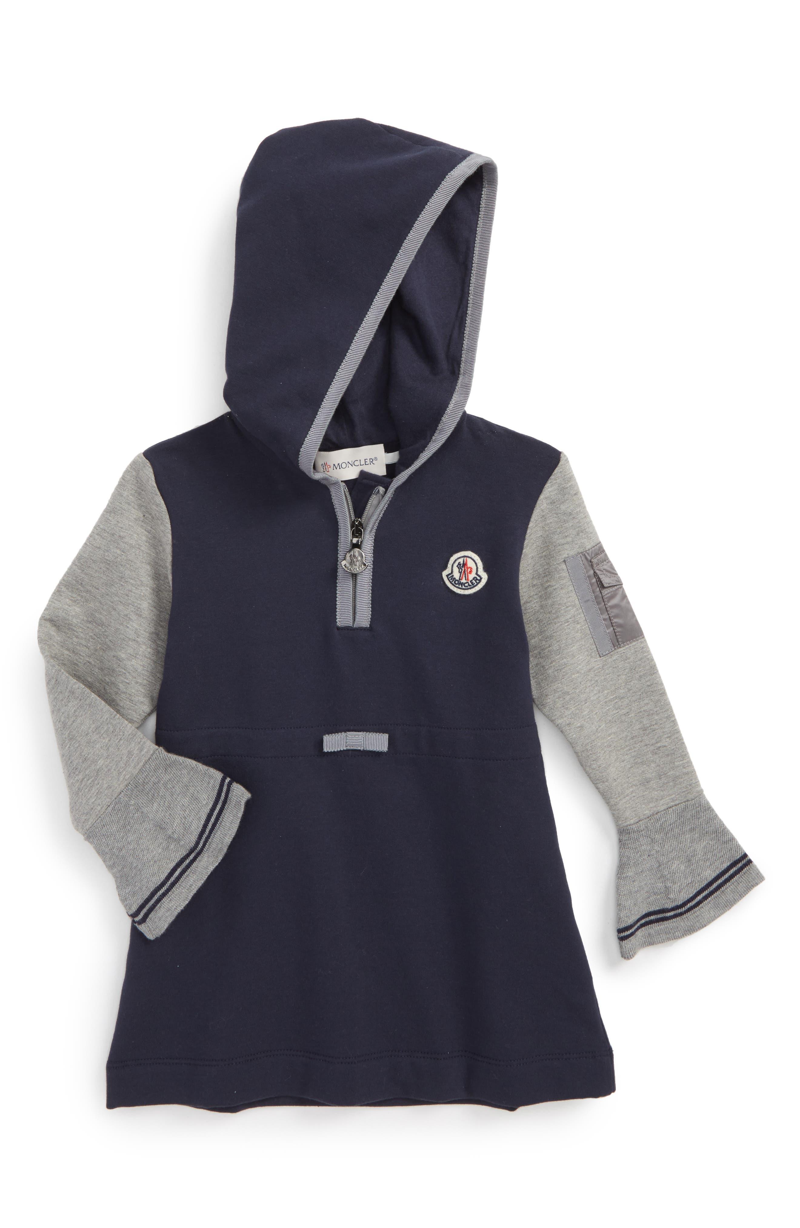 Moncler Hooded Jersey Dress (Baby Girls & Toddler Girls)