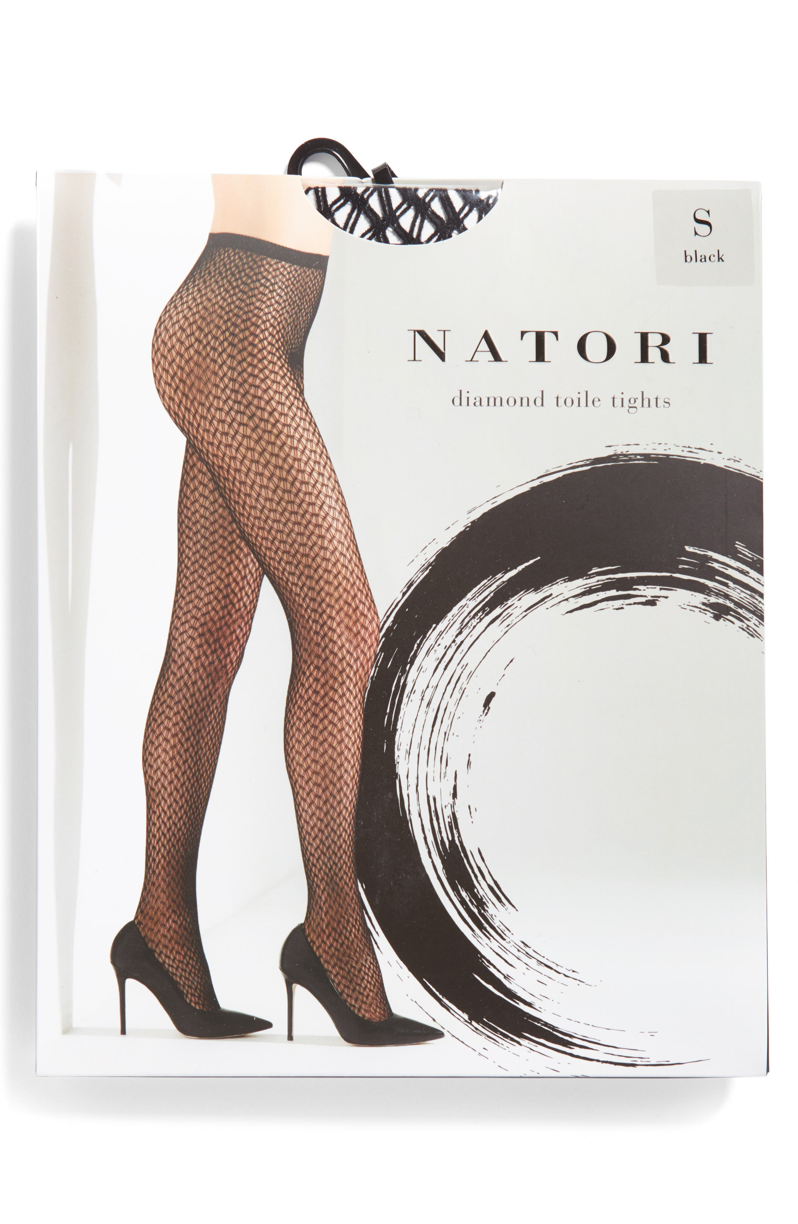 Alternate Image 2  - Natori Diamond Toile Tights