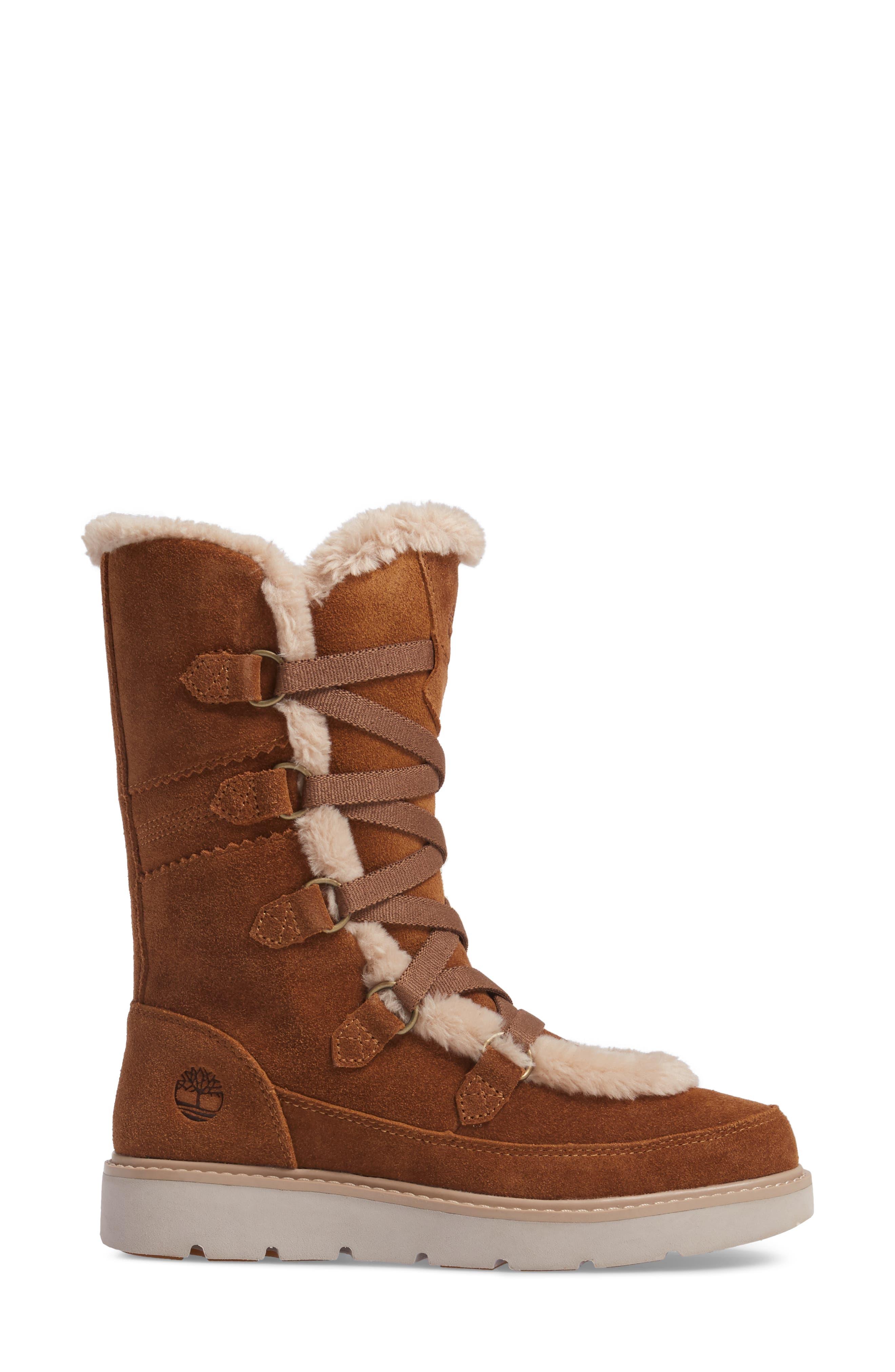 Alternate Image 3  - Timberland Kenniston Faux Fur Water Resistant Mukluk Boot (Women)