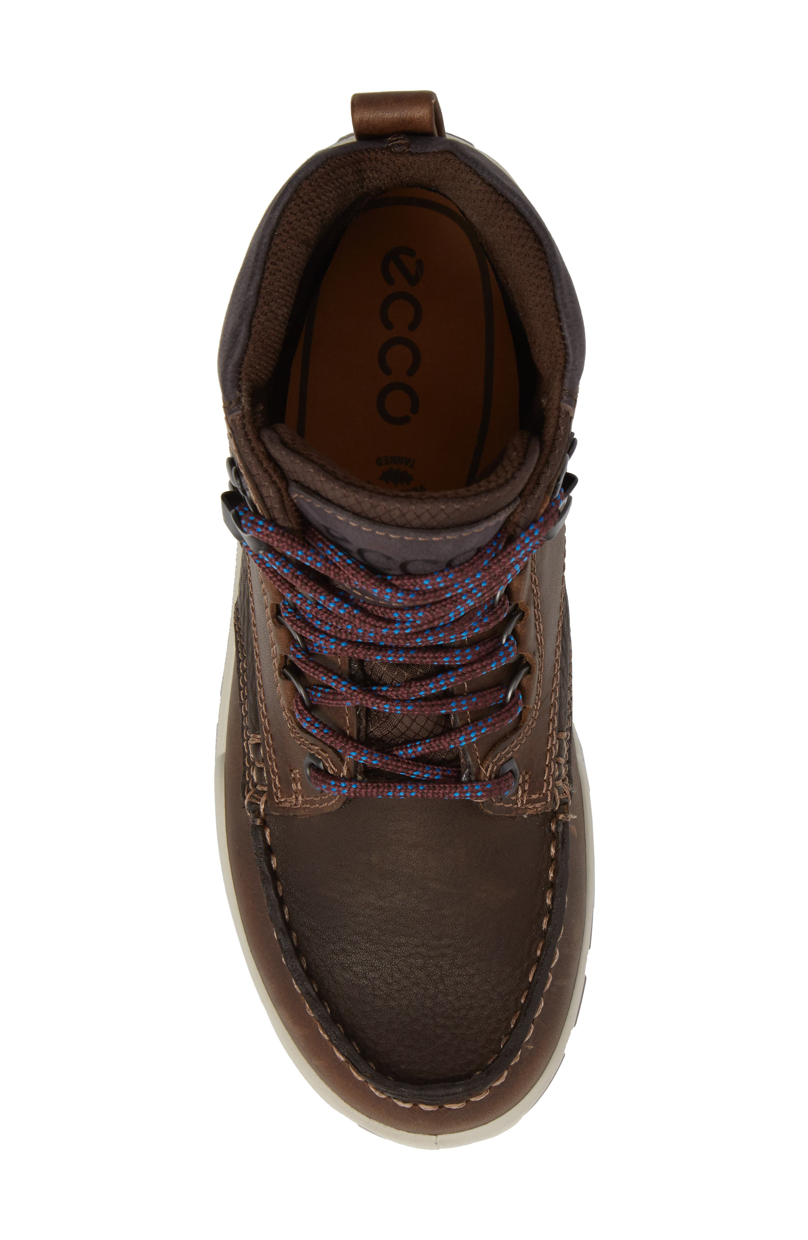 Track 25 Gore-Tex<sup>®</sup> Waterproof Hiking Boot,                             Alternate thumbnail 5, color,                             Cocoa Brown Leather