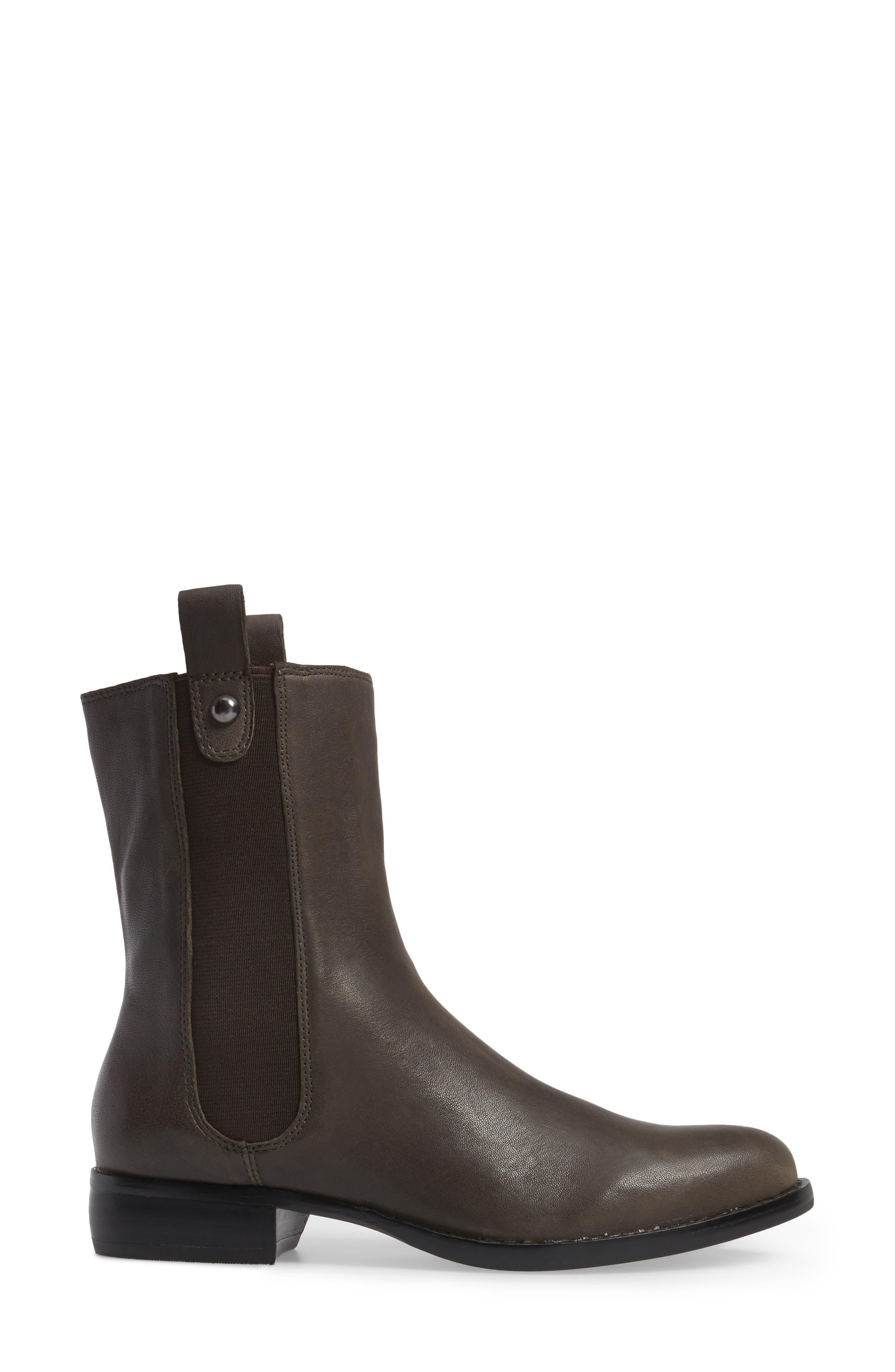 CC Corso Como Armando Boot,                             Alternate thumbnail 3, color,                             Dark Grey Leather
