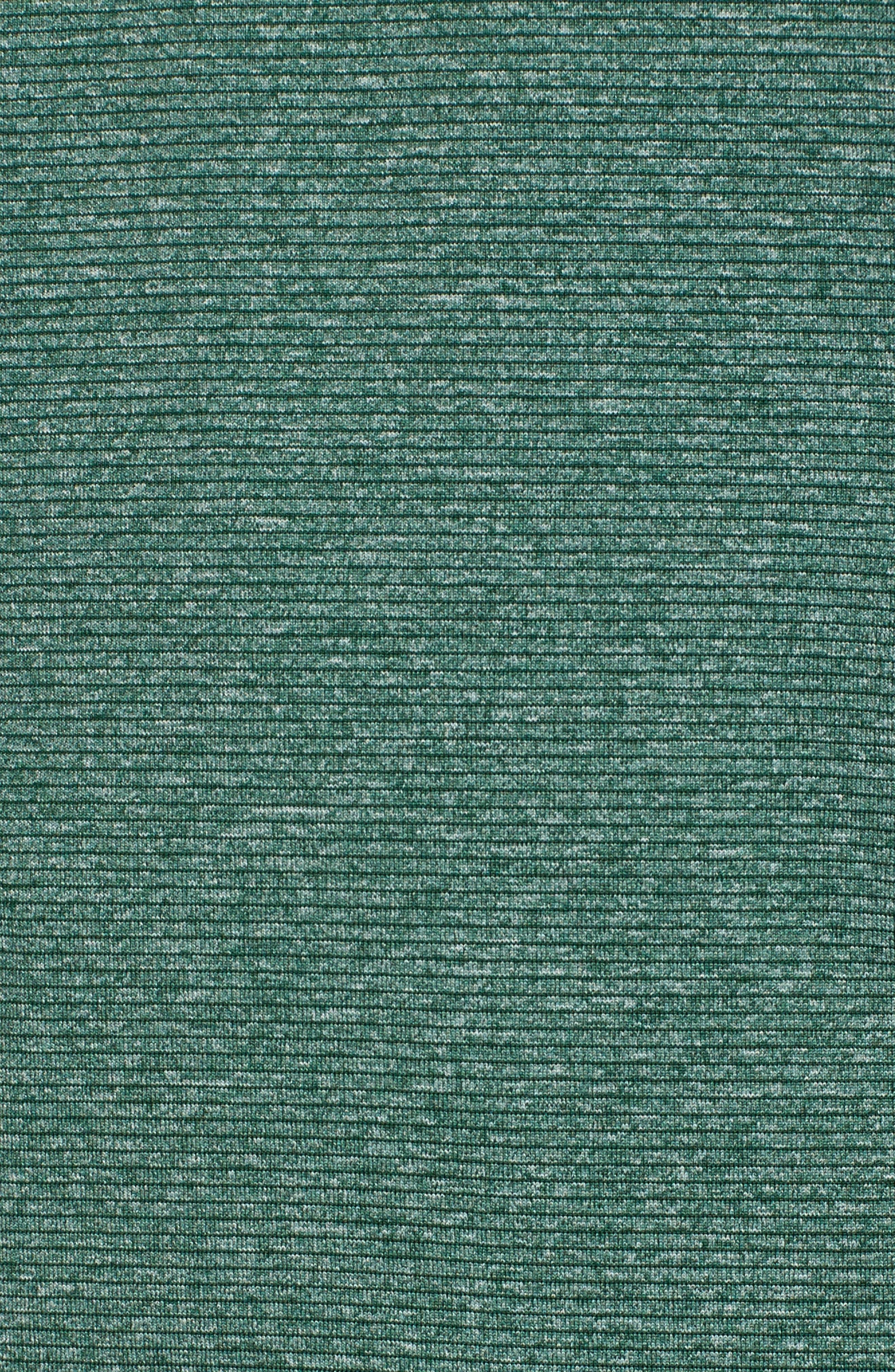Shoreline - New York Jets Half Zip Pullover,                             Alternate thumbnail 5, color,                             Hunter Heather