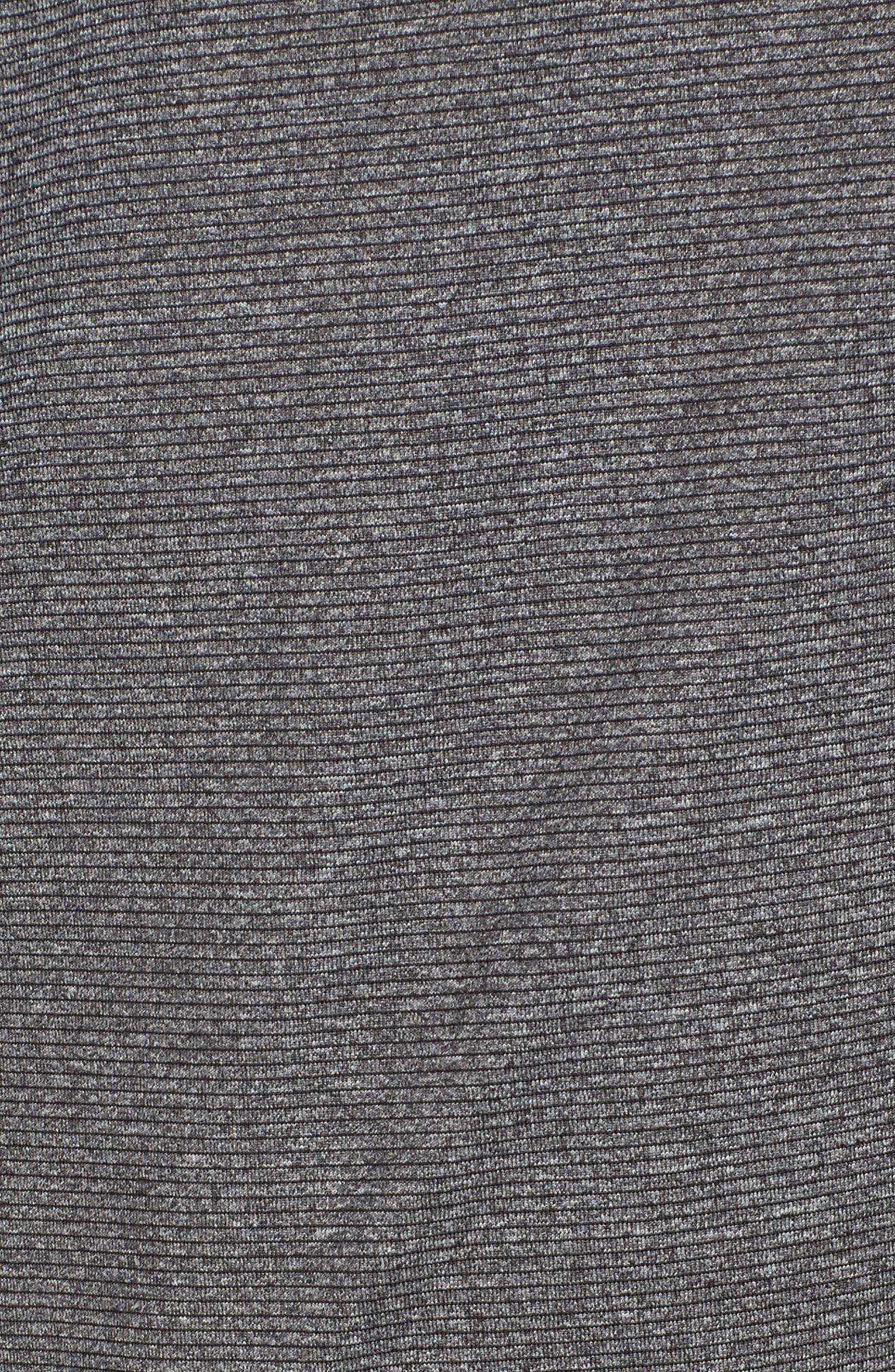 Shoreline - Washington Half Zip Pullover,                             Alternate thumbnail 5, color,                             Charcoal Heather
