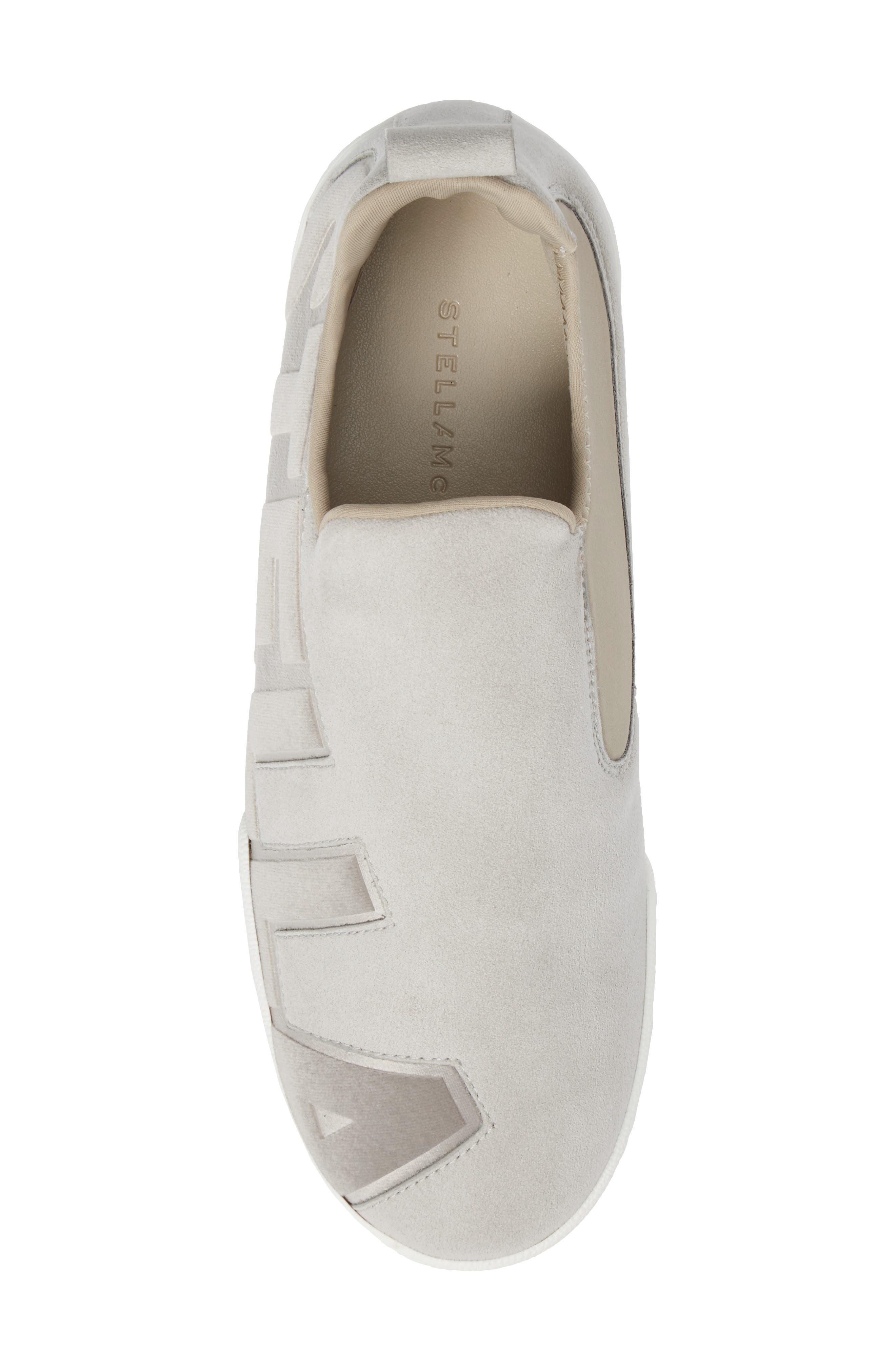 Alternate Image 5  - Stella McCartney Logo Slip-On Sneaker (Women)