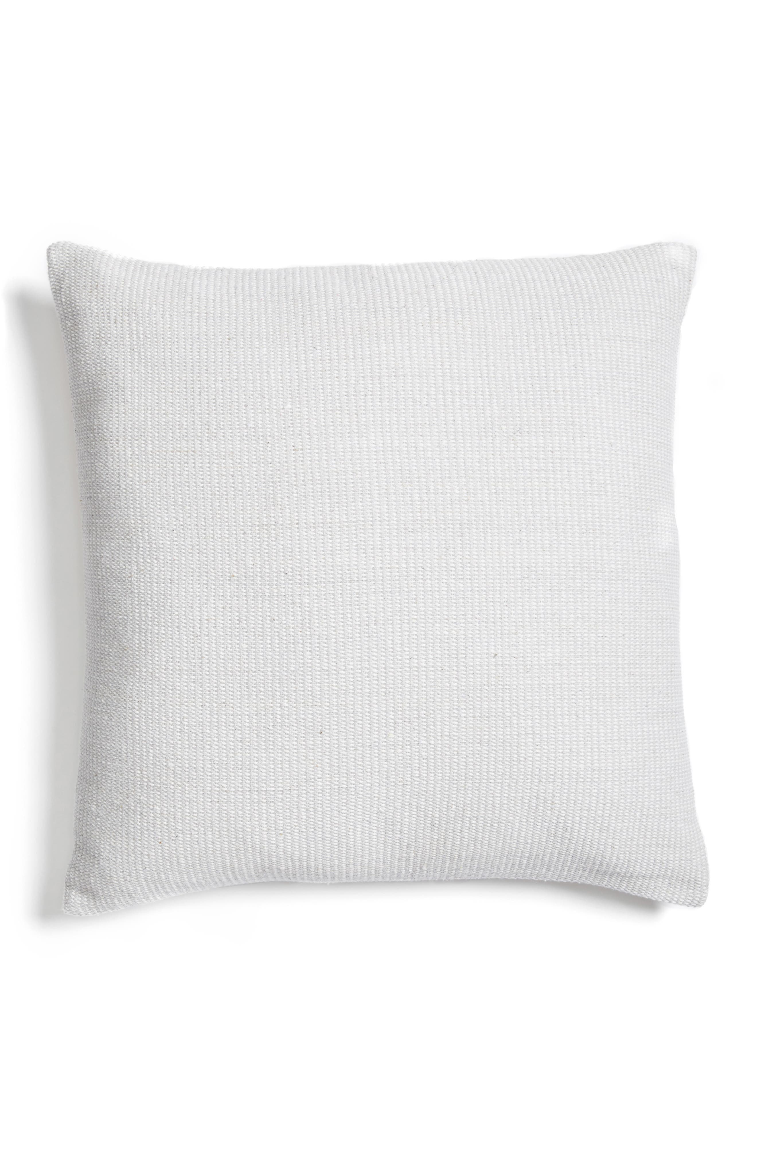 Structure Pillow,                         Main,                         color, White/ Grey