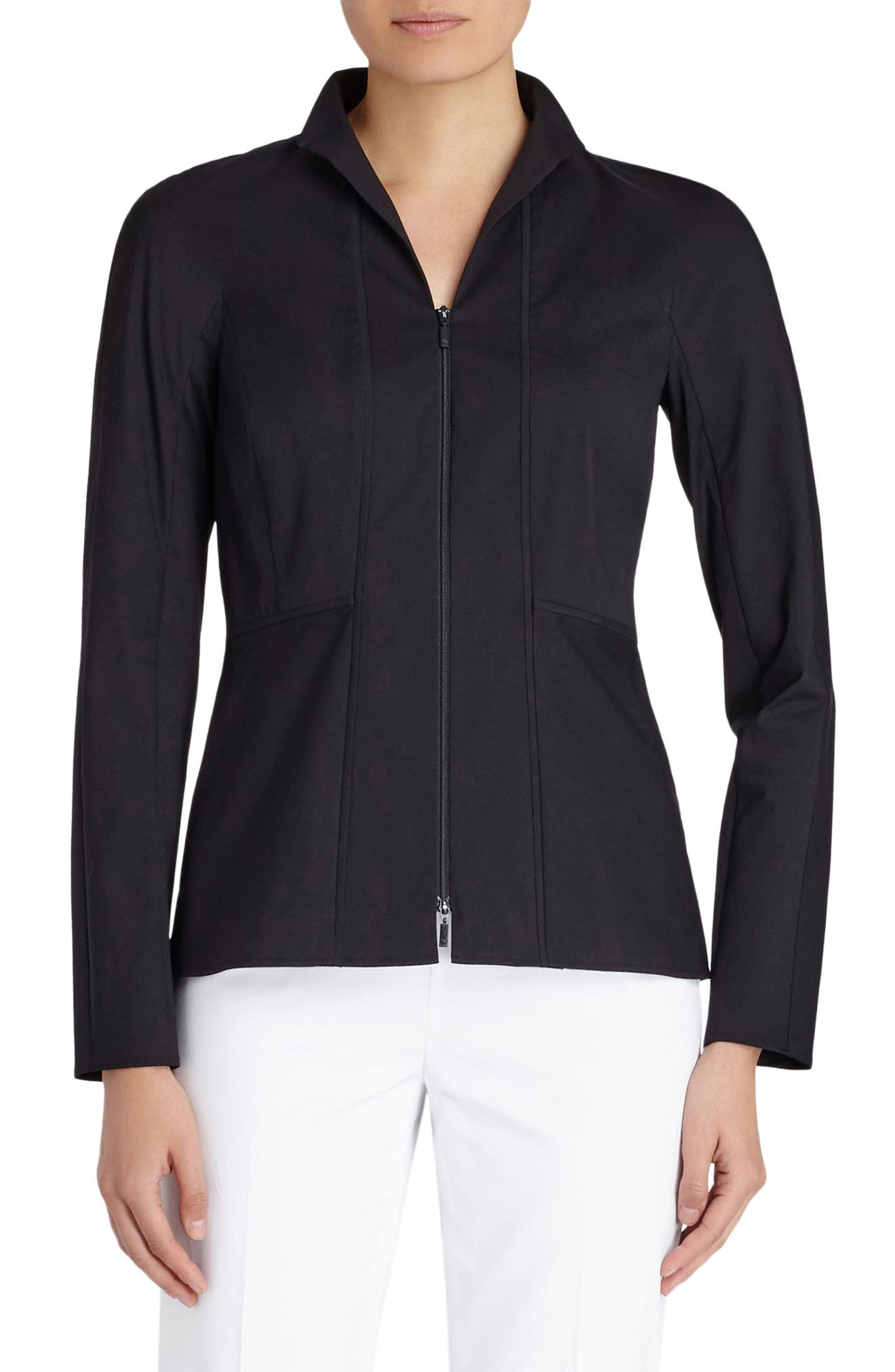 Alternate Image 1 Selected - Lafayette 148 New York Kerry Blouse