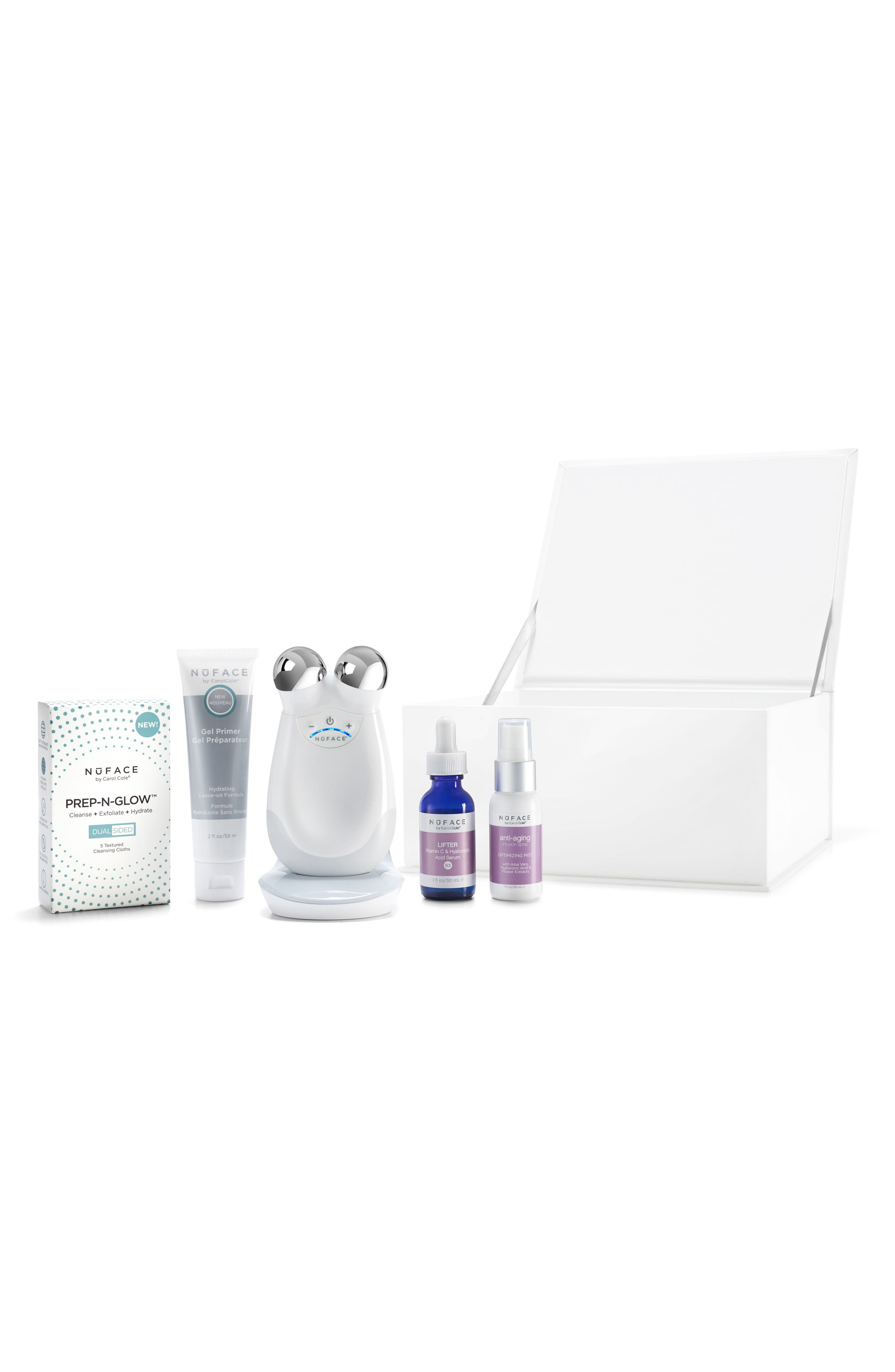 Alternate Image 1 Selected - NuFACE® Infinite Glow Complete Microcurrent + Hydration Collection ($441 Value)