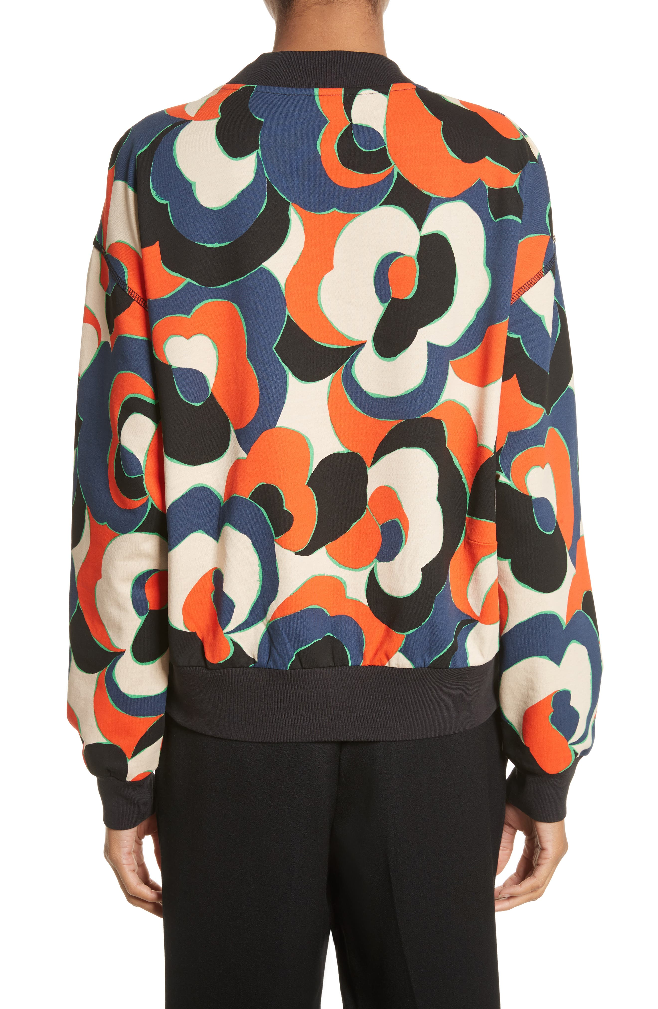 Alternate Image 2  - Dries Van Noten Hardmon Print Sweatshirt