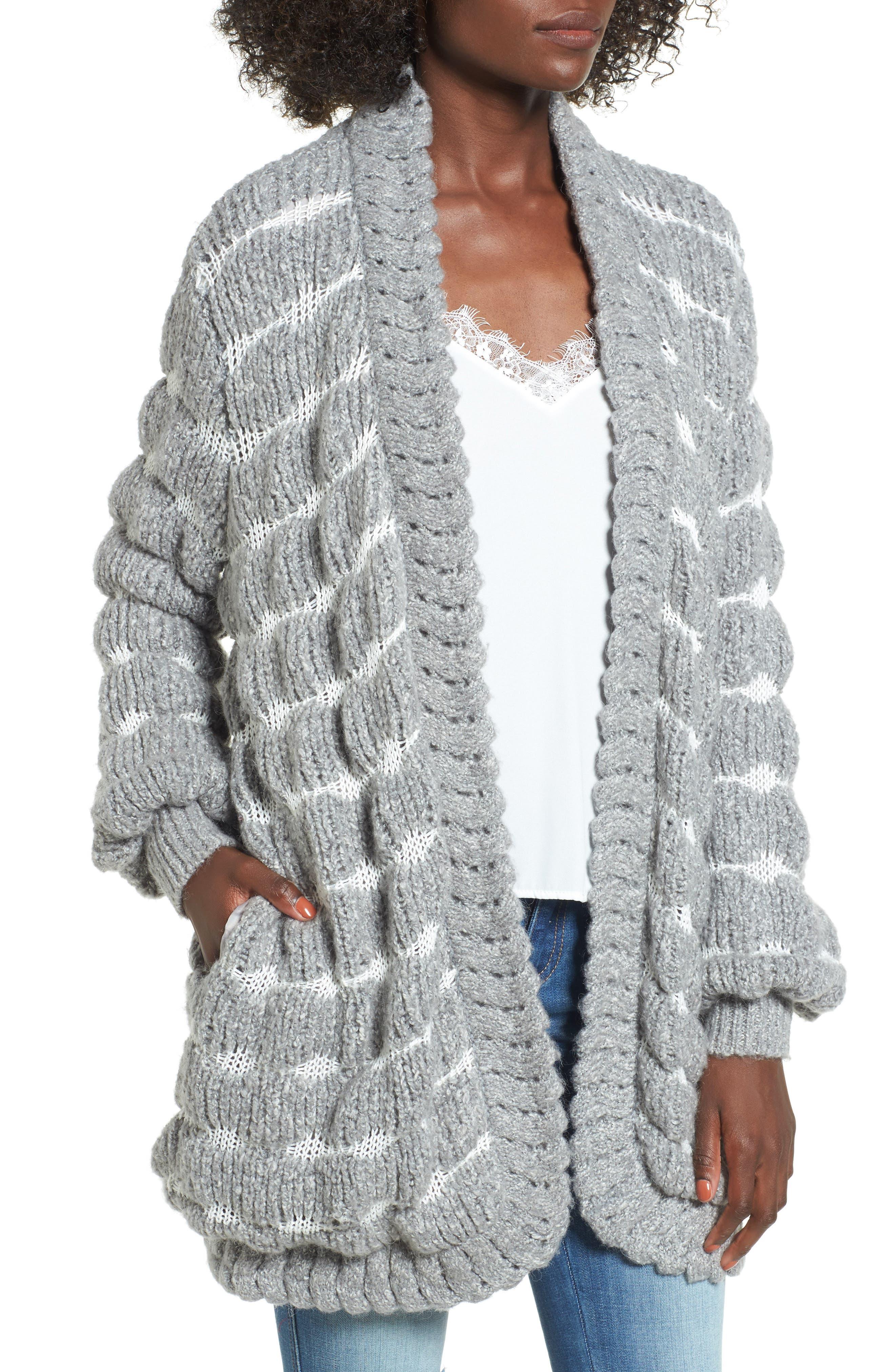 Carmine Sweater,                         Main,                         color, Heather Grey