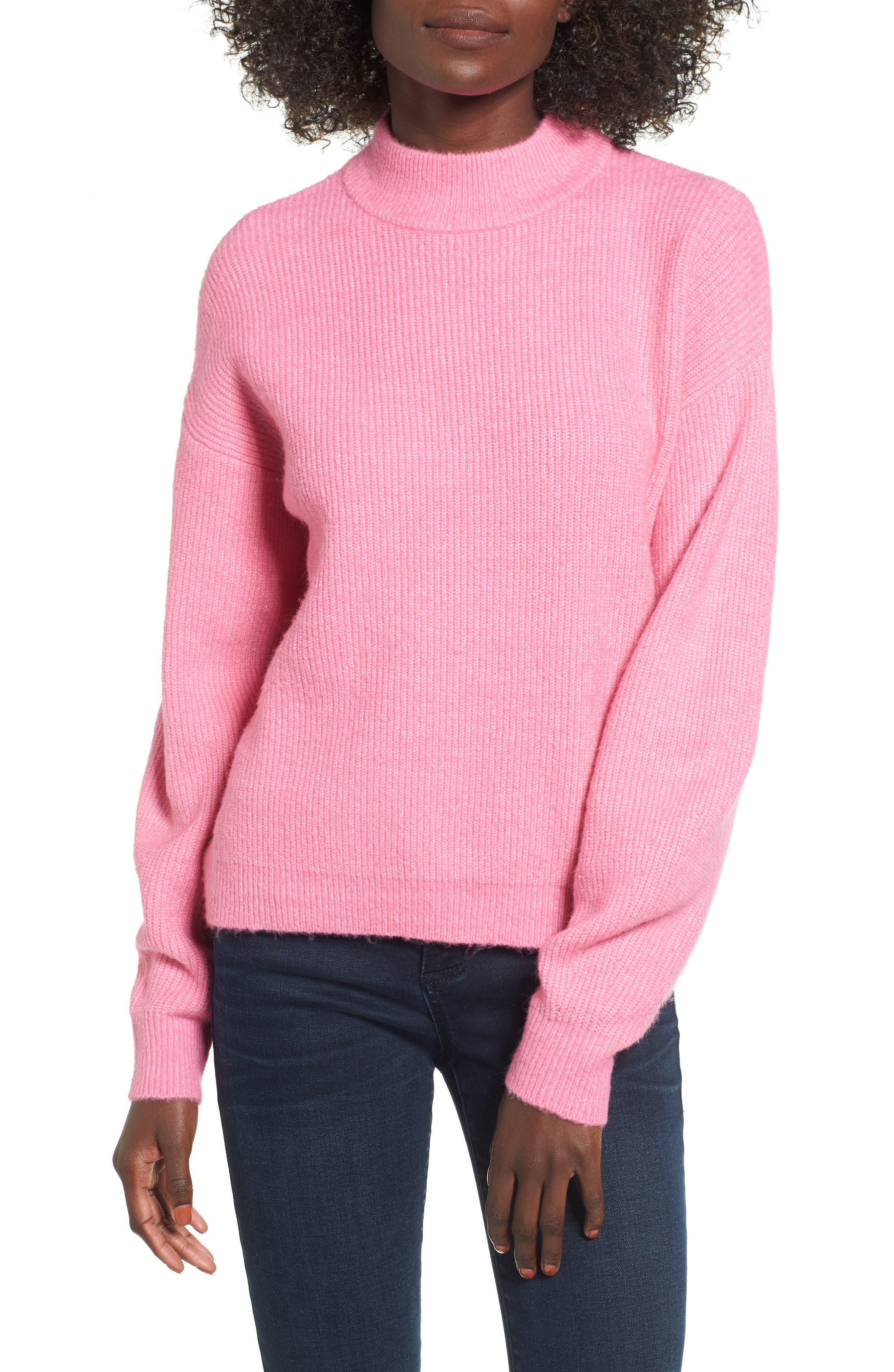 Main Image - Leith Cozy Ribbed Pullover