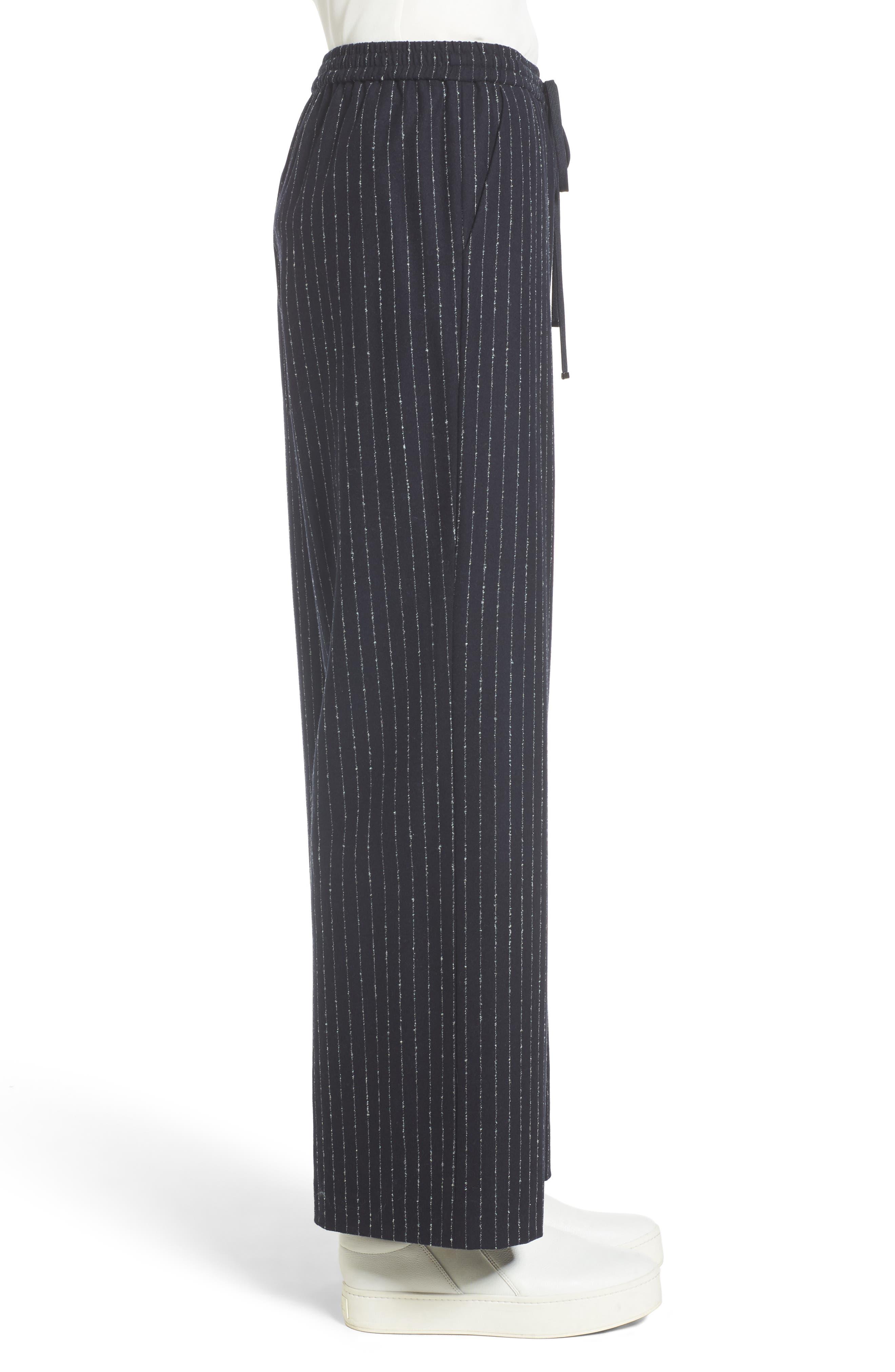 Alternate Image 3  - Nordstrom Signature Wide-Leg Crop Pants