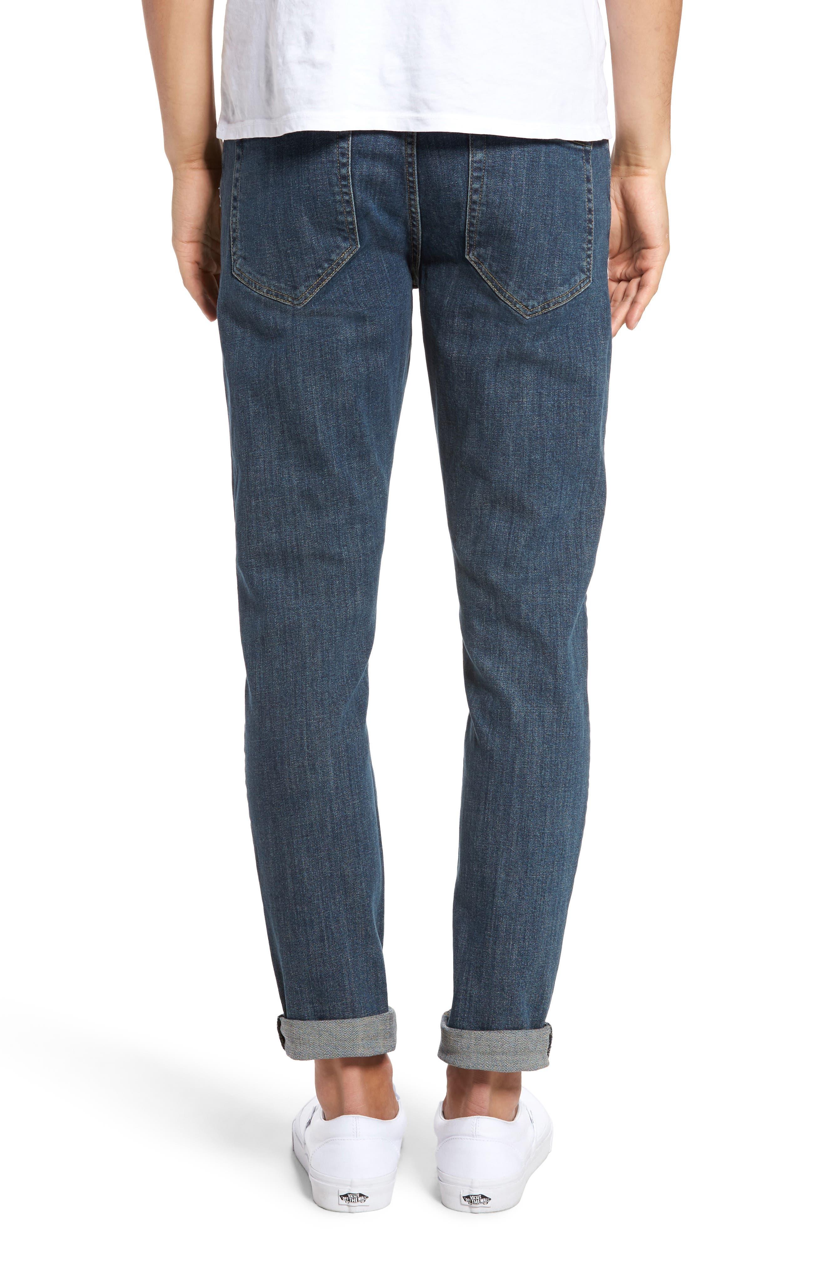 Alternate Image 2  - Dr. Denim Supply Co. Clark Slim Straight Leg Jeans (90s Mid Blue)