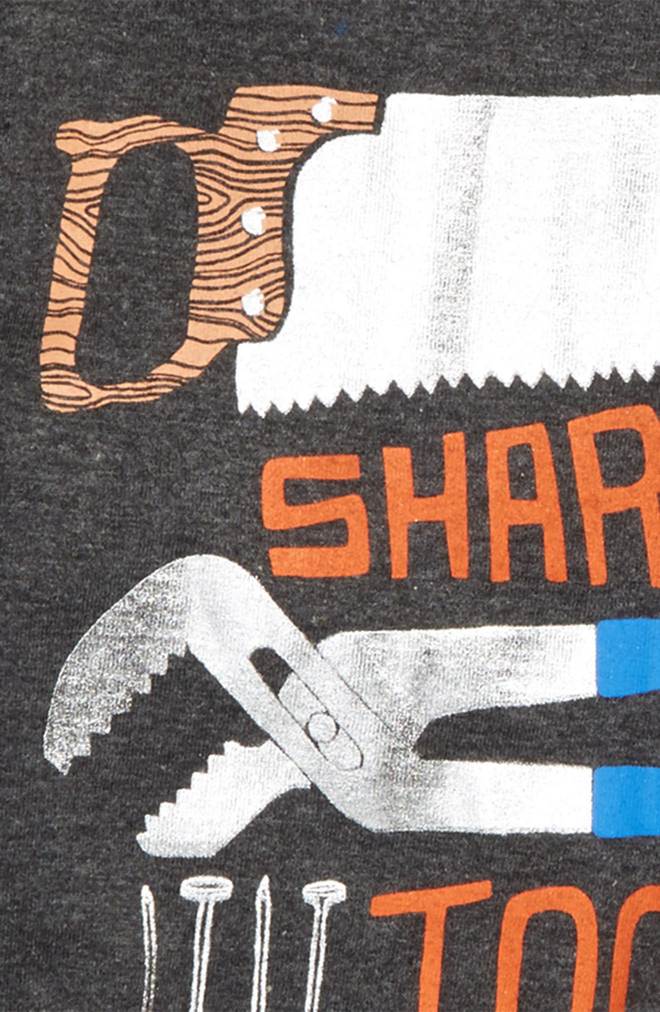 Alternate Image 2  - Hatley Sharpest Tool in the Shed T-Shirt (Toddler Boys, Little Boys & Big Boys)