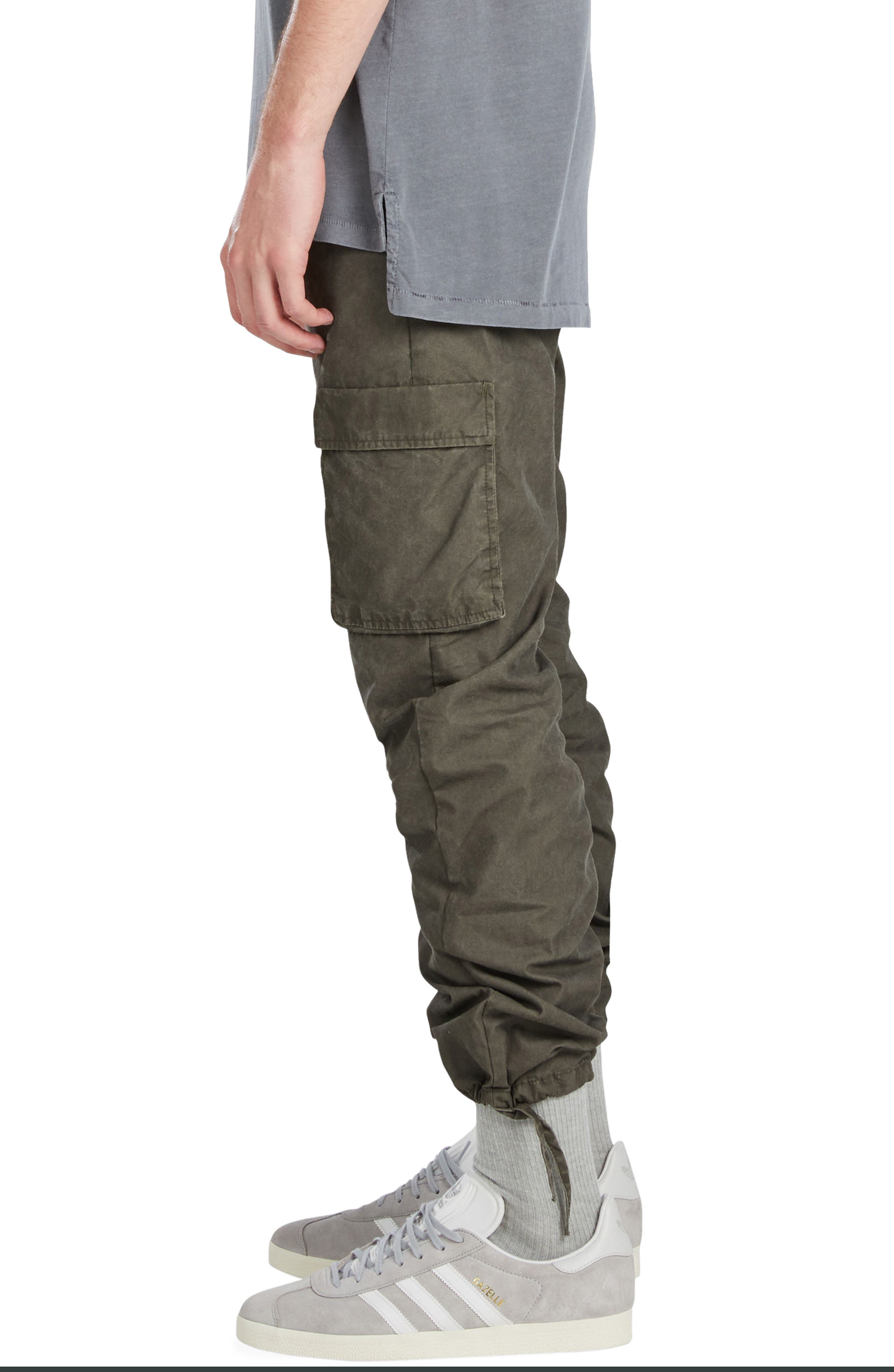 Tracer Cargo Pants,                             Alternate thumbnail 3, color,                             Peat