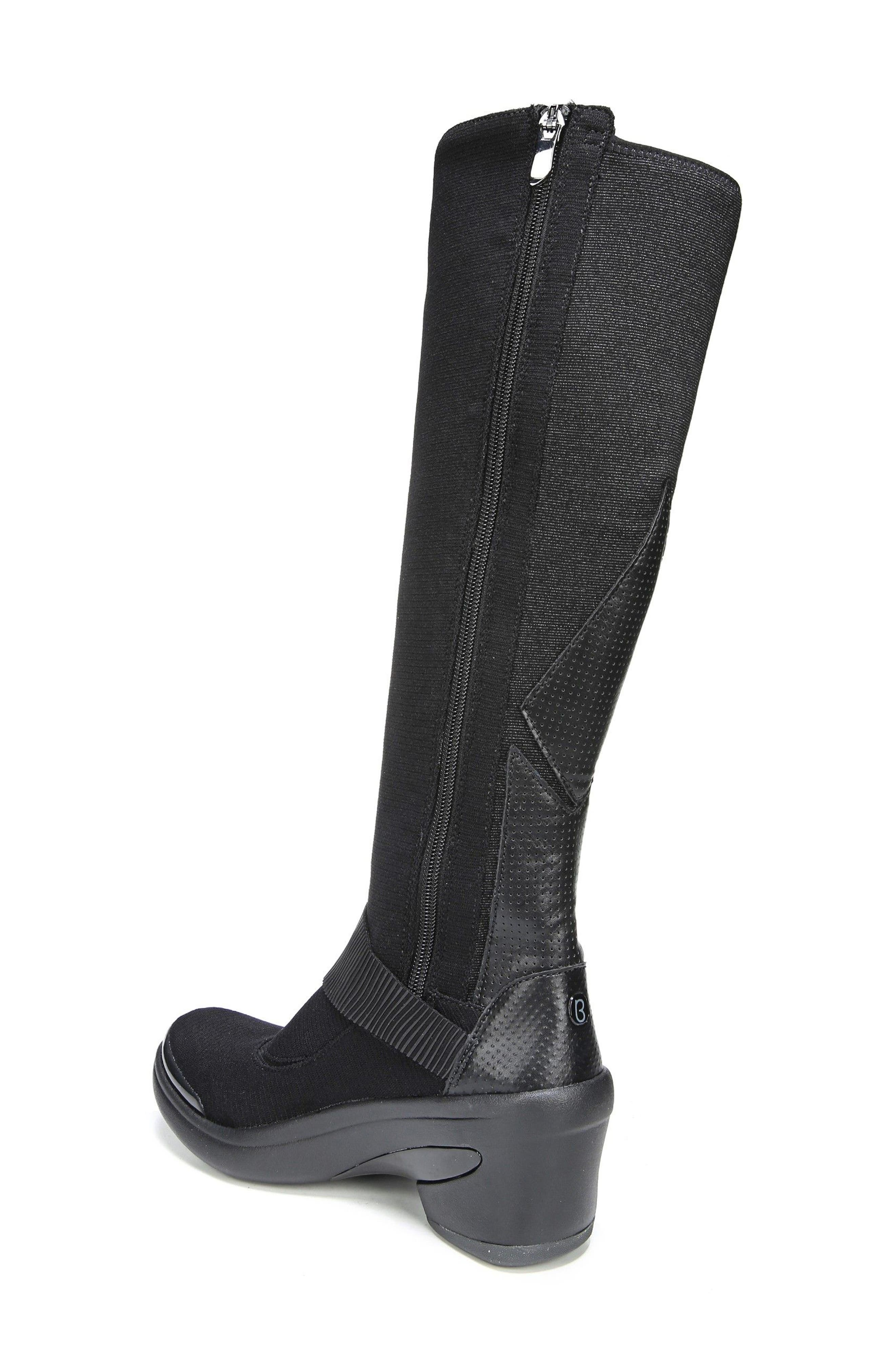Enchanted Boot,                             Alternate thumbnail 2, color,                             Black Fabric
