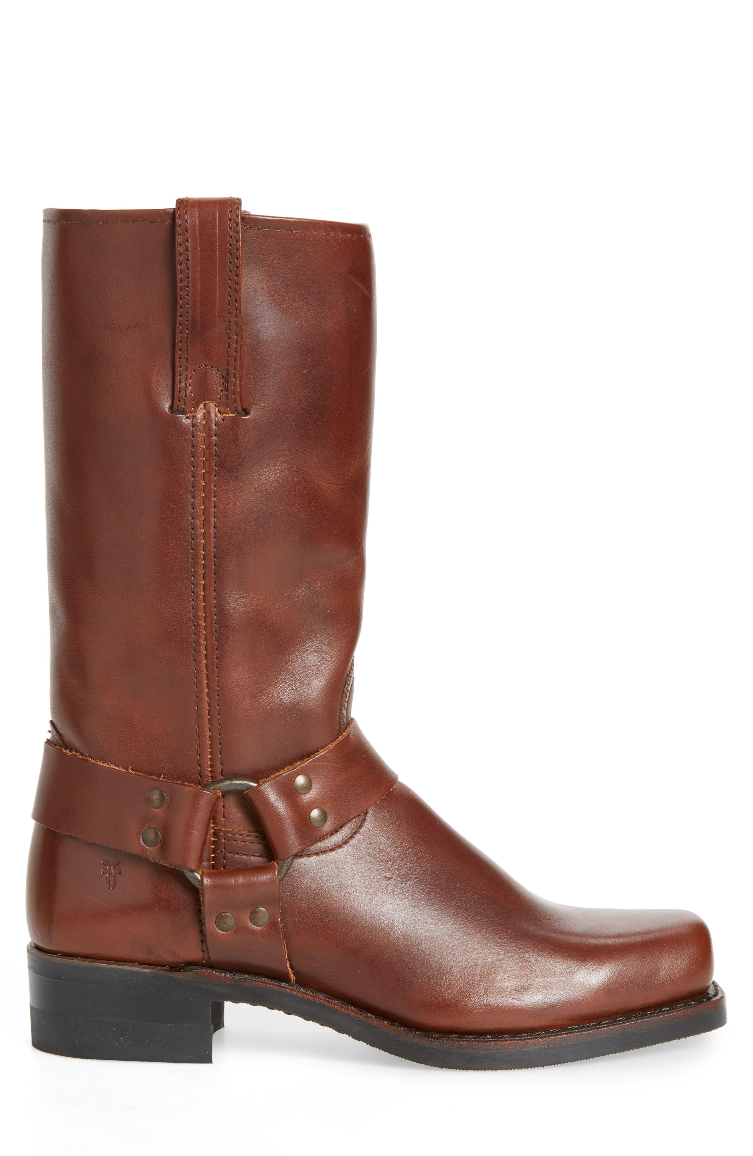 12R Harness Boot,                             Alternate thumbnail 3, color,                             Walnut