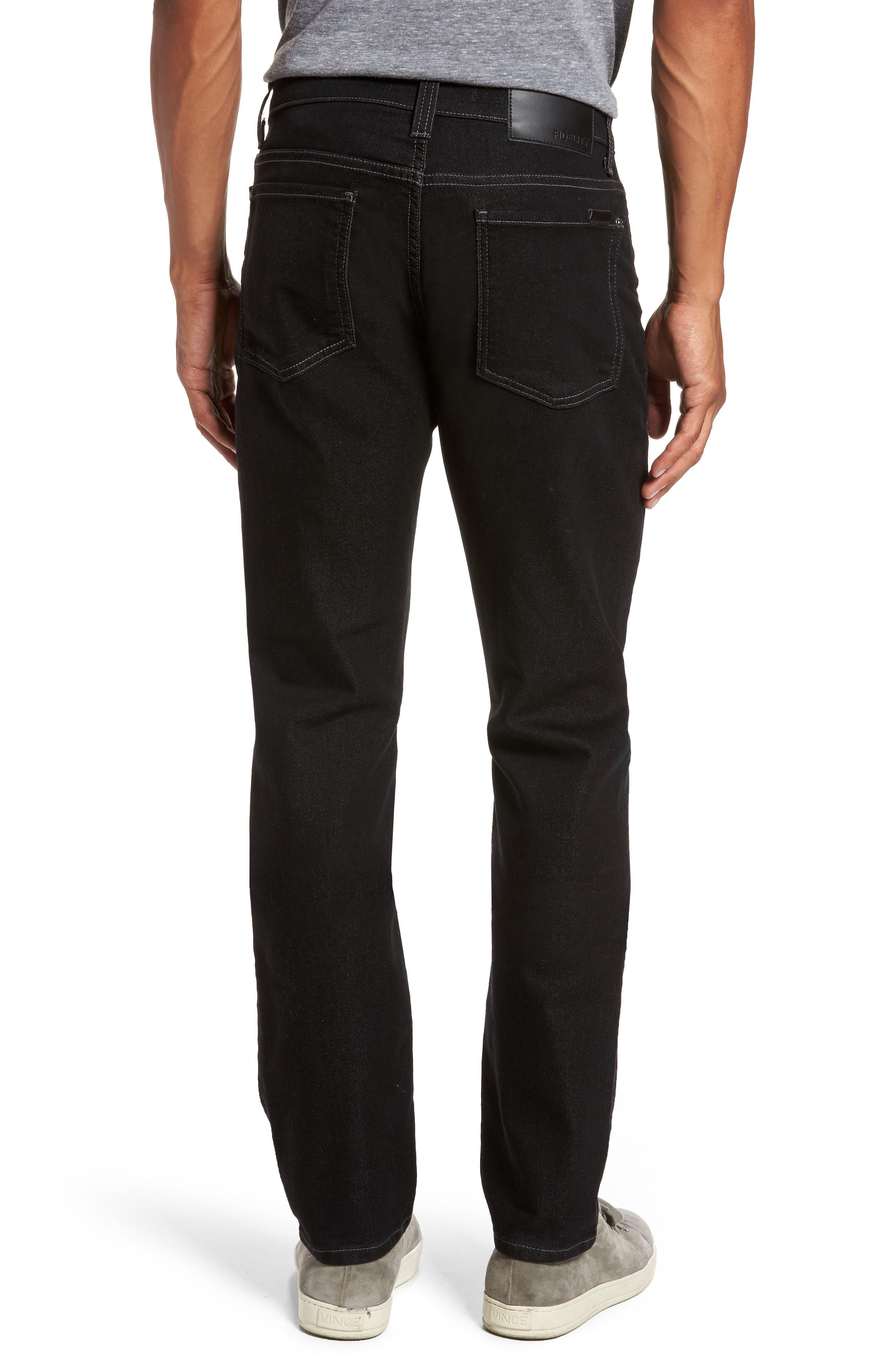 Torino Slim Fit Jeans,                             Alternate thumbnail 2, color,                             Oxy Black On Black