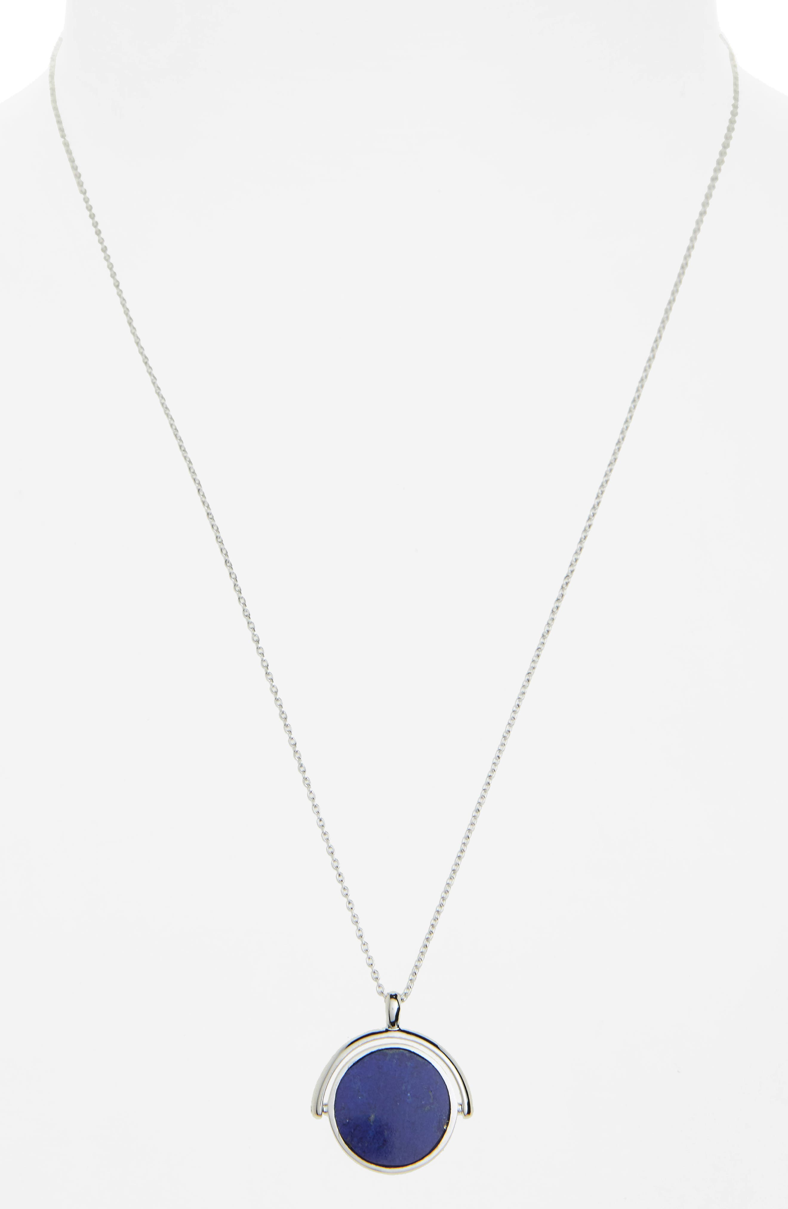 Alternate Image 3  - Shinola Rotating Signet Pendant Necklace