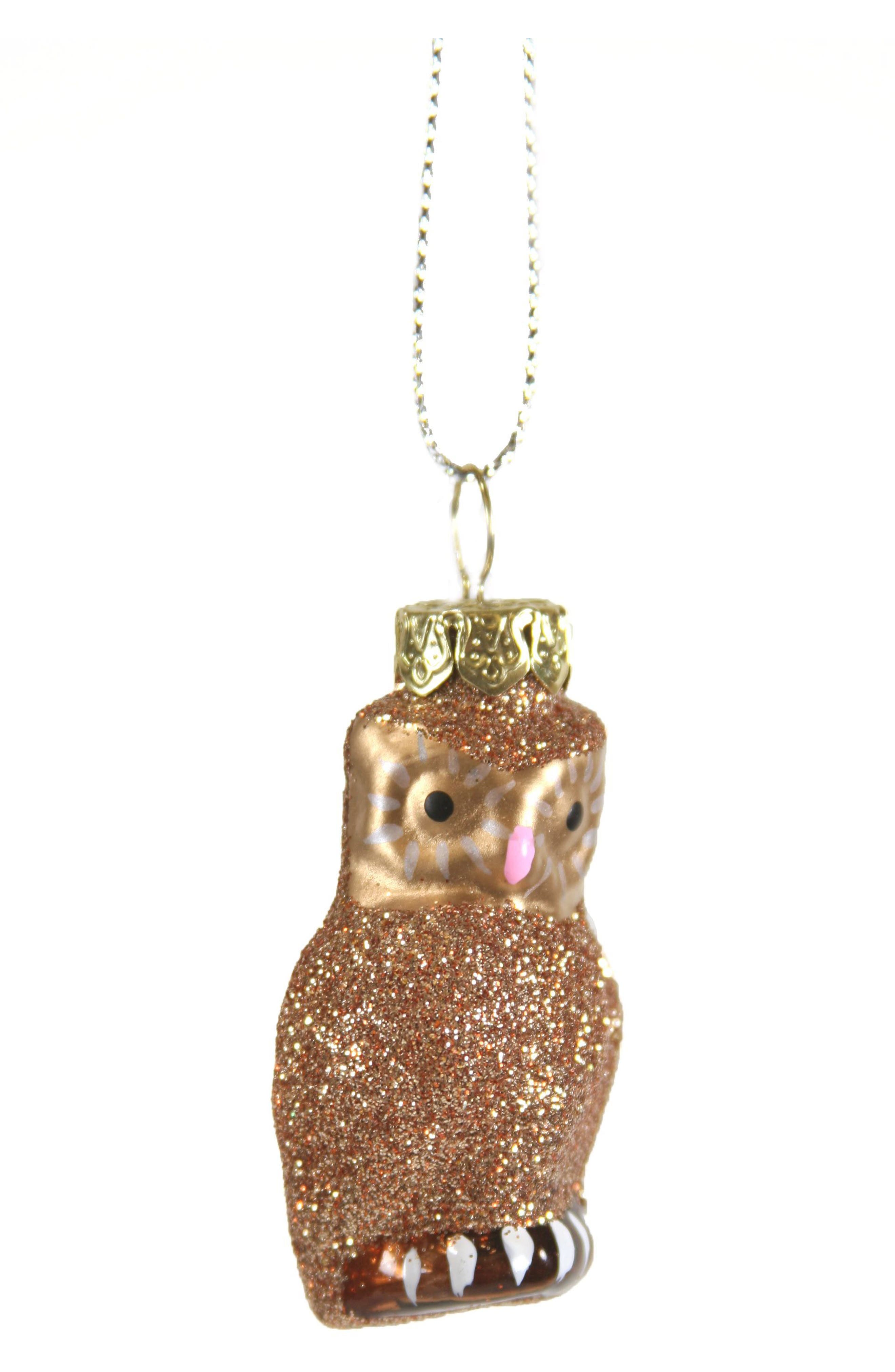 Cody Foster Tiniest Owl Glass Ornament