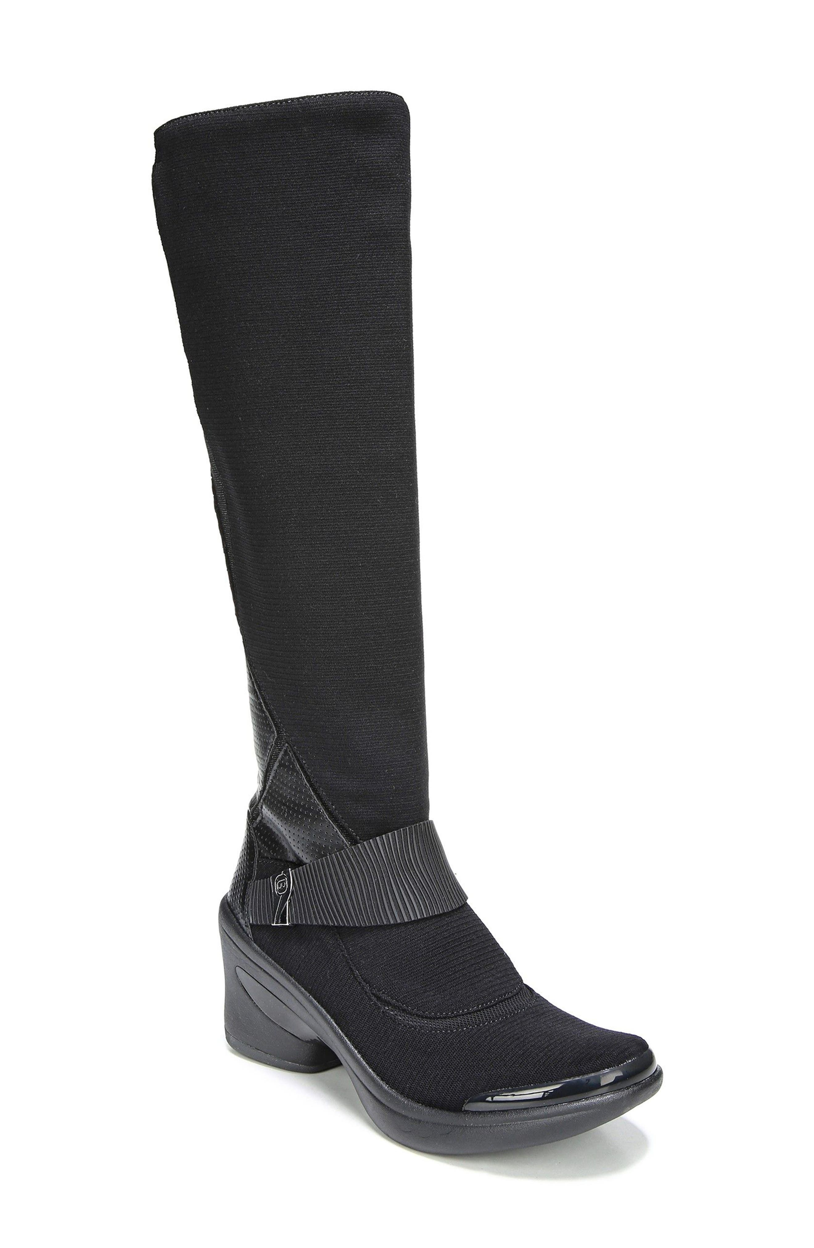 Enchanted Boot,                             Main thumbnail 1, color,                             Black Fabric