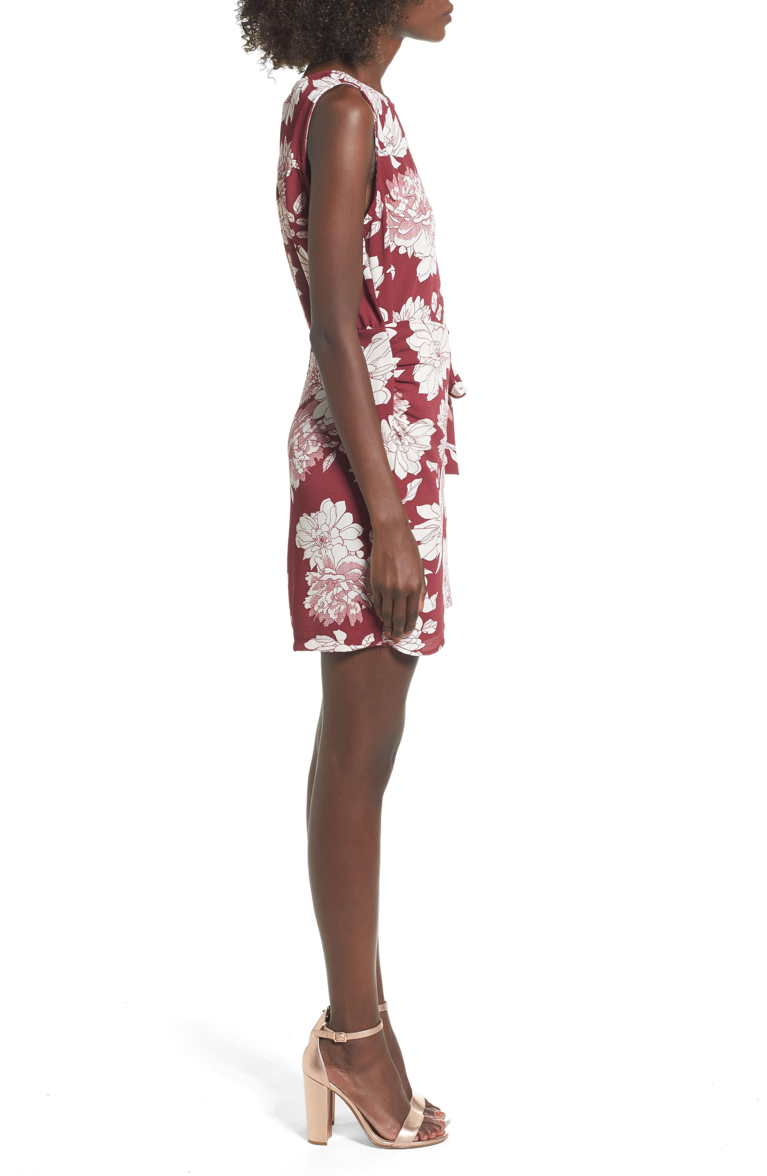 Alternate Image 3  - Mimi Chica Wrap Skirt Dress